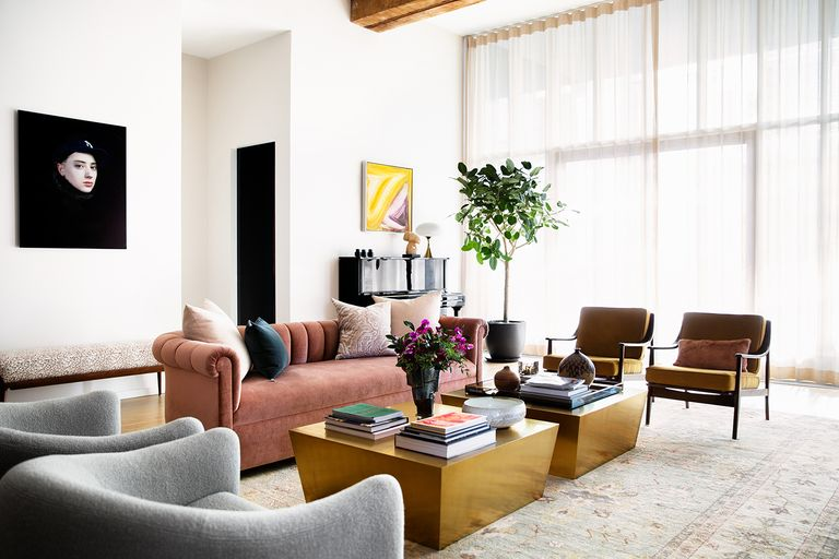 Elle Decor: This Brooklyn Loft by Bella Mancini Will Give You Open-Floor-Plan Envy