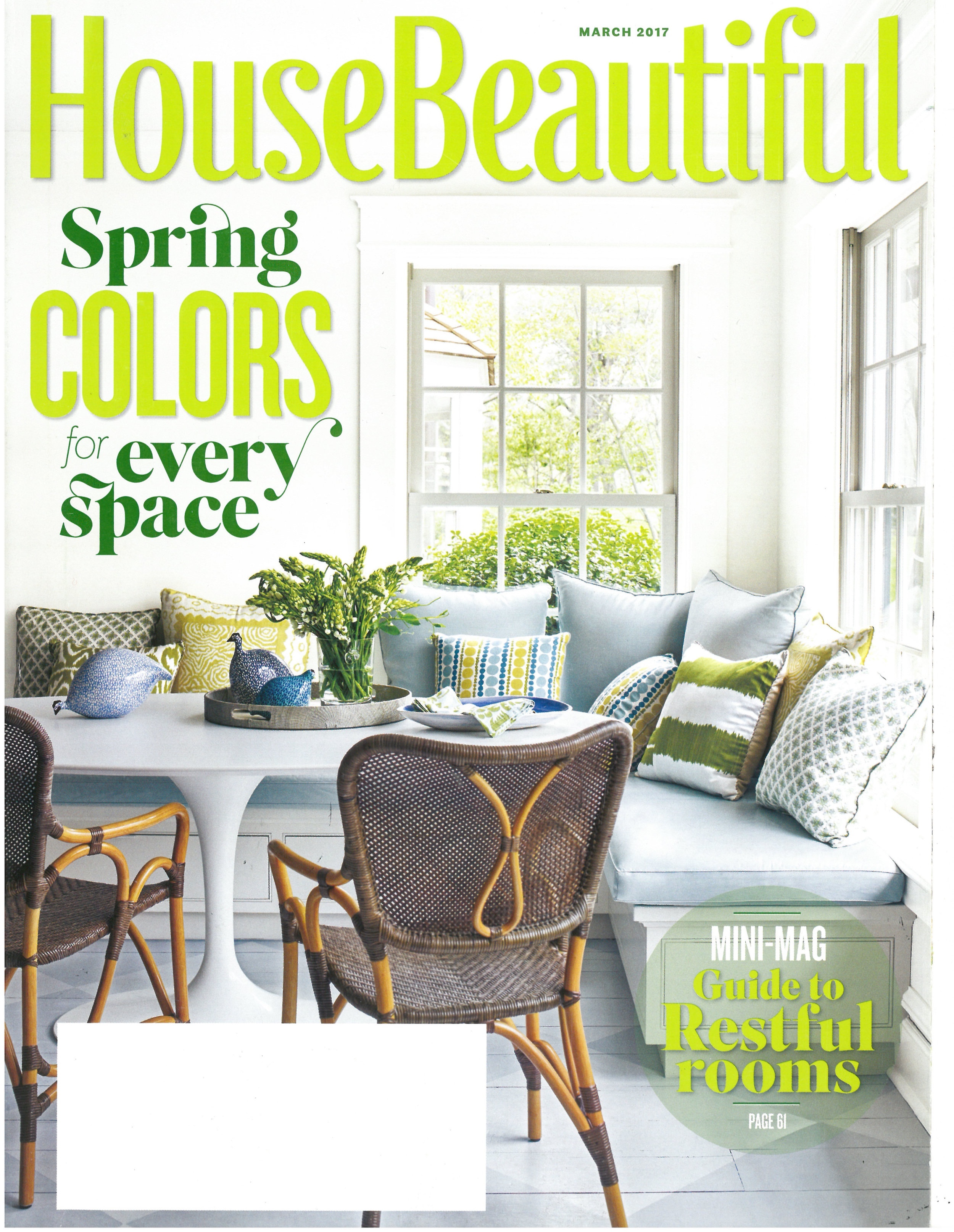 House Beautiful, March 2017