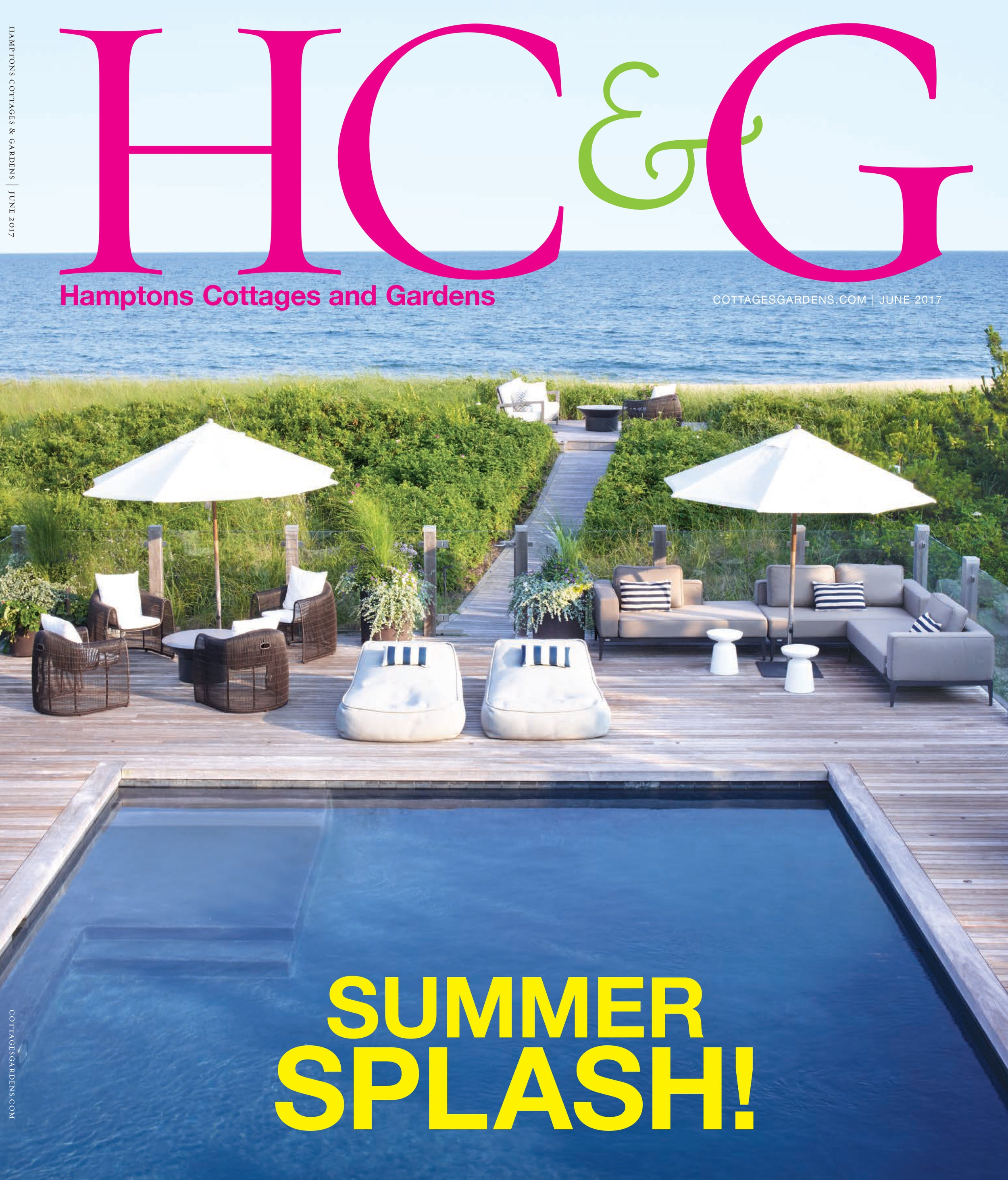 Hamptons Cottages & Gardens, June 2017