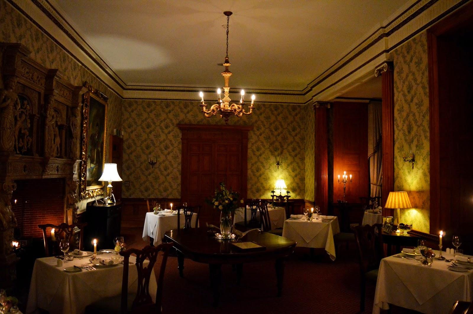 dining room at goldsborough hall