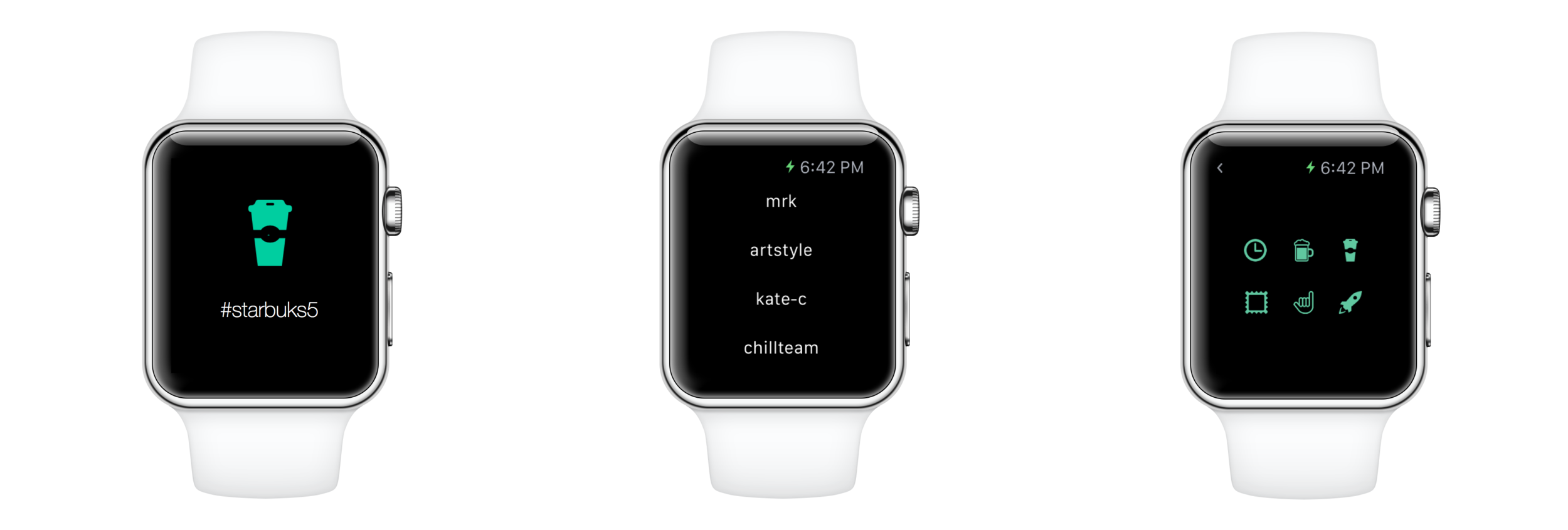 Chill app for wearables