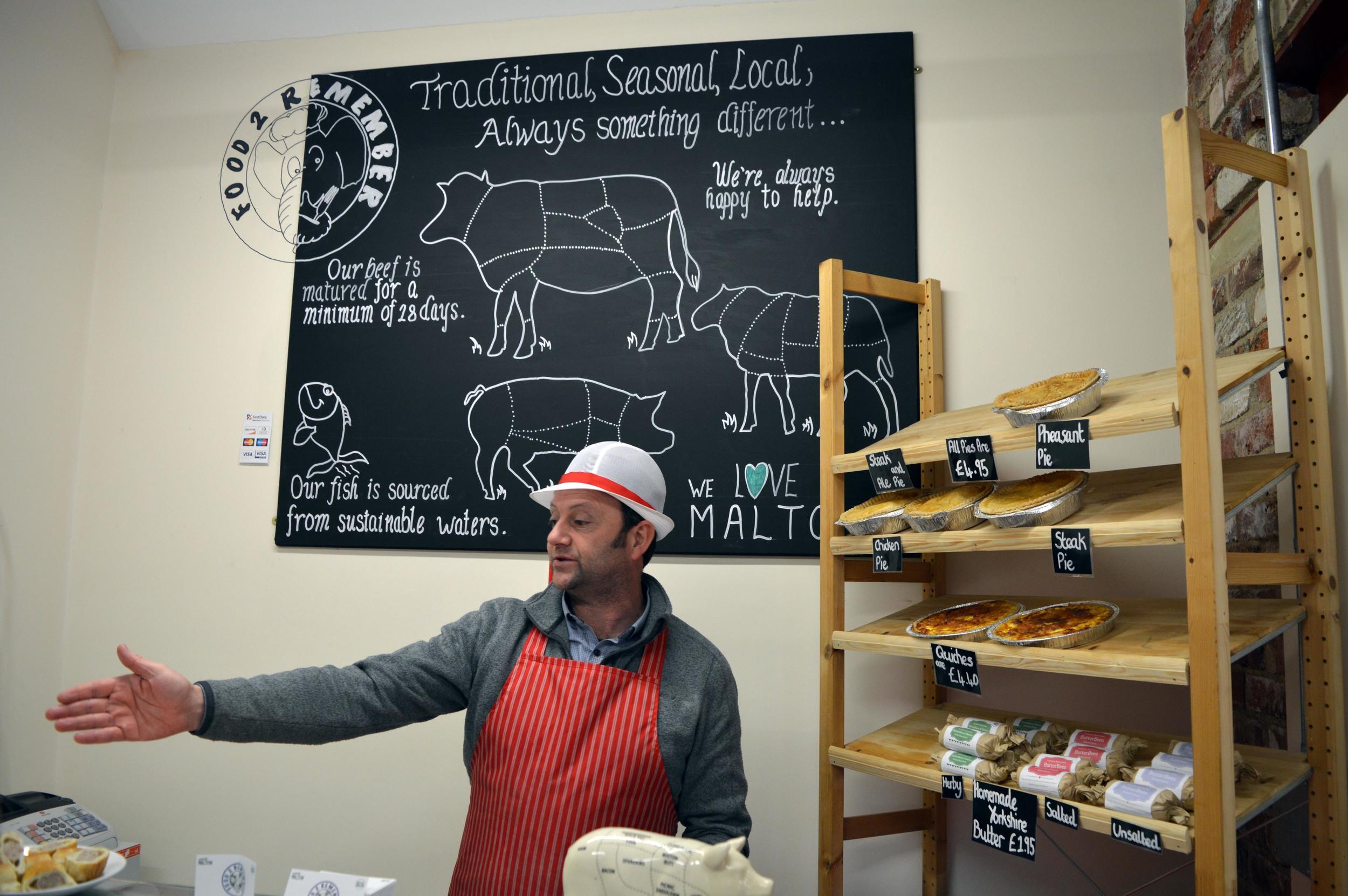 Paul Pott's butchery - Food 2 Remember