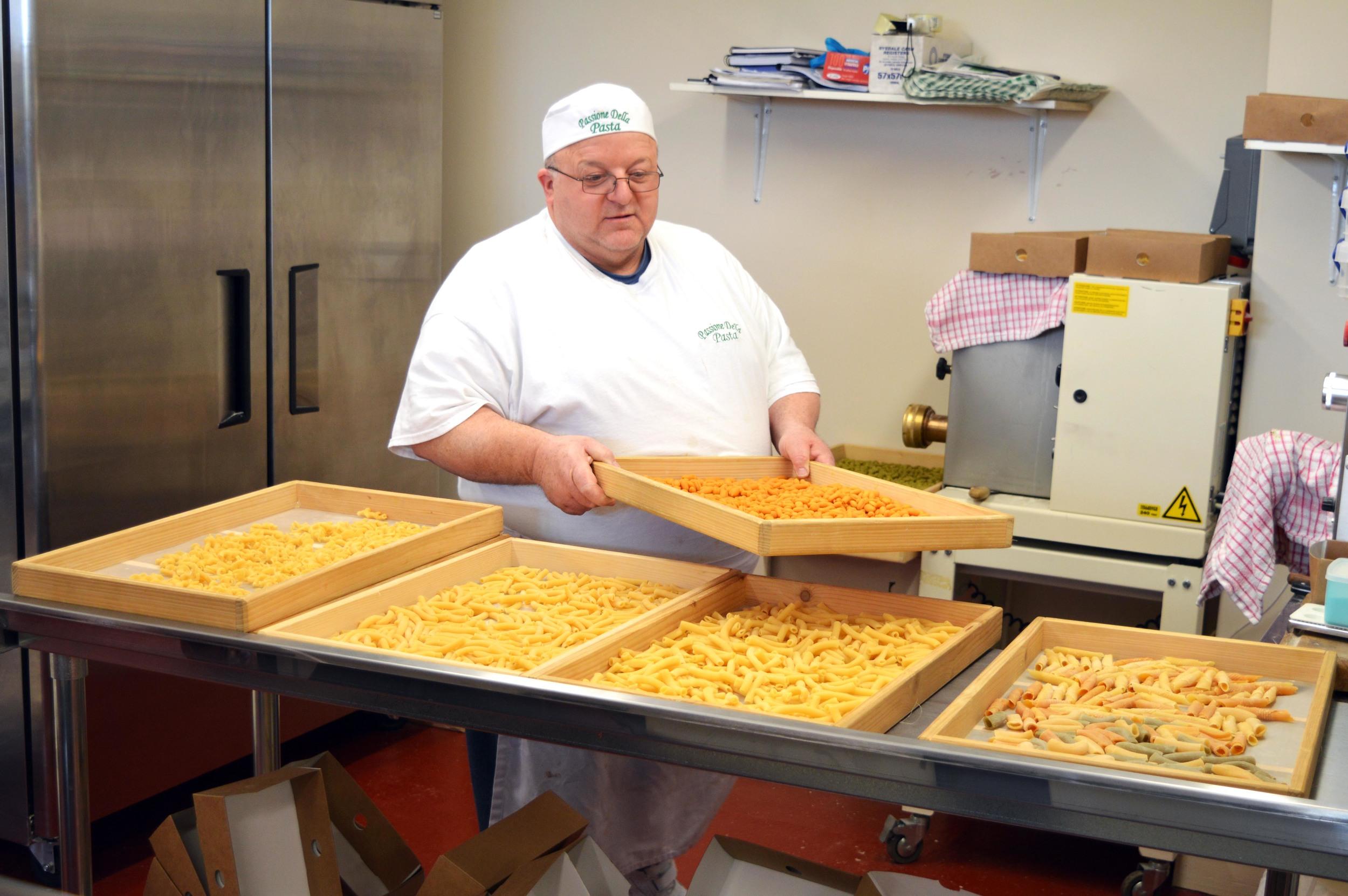 Aldo at  Passione della Pasta
