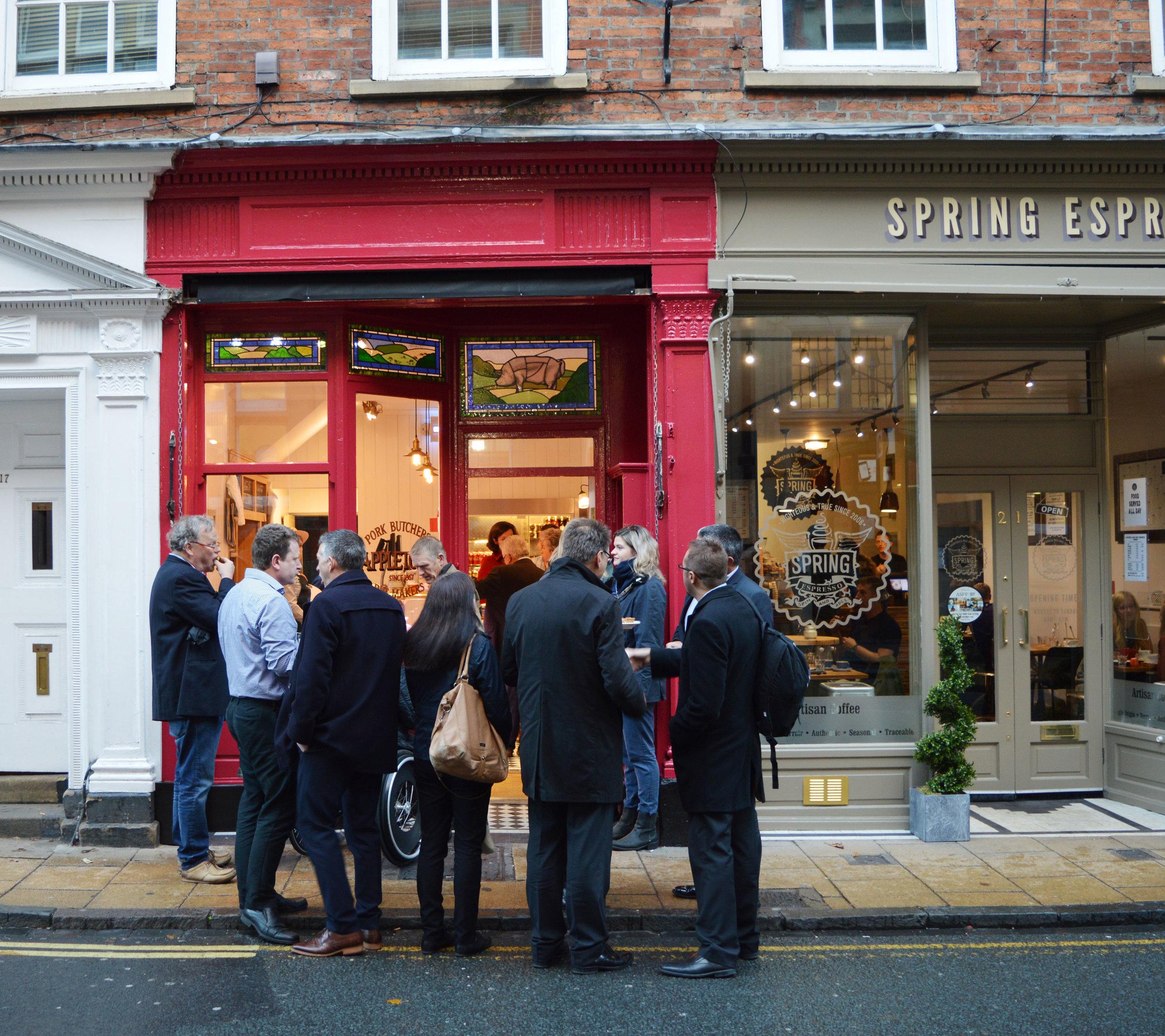 Opening Appletons Butchers York