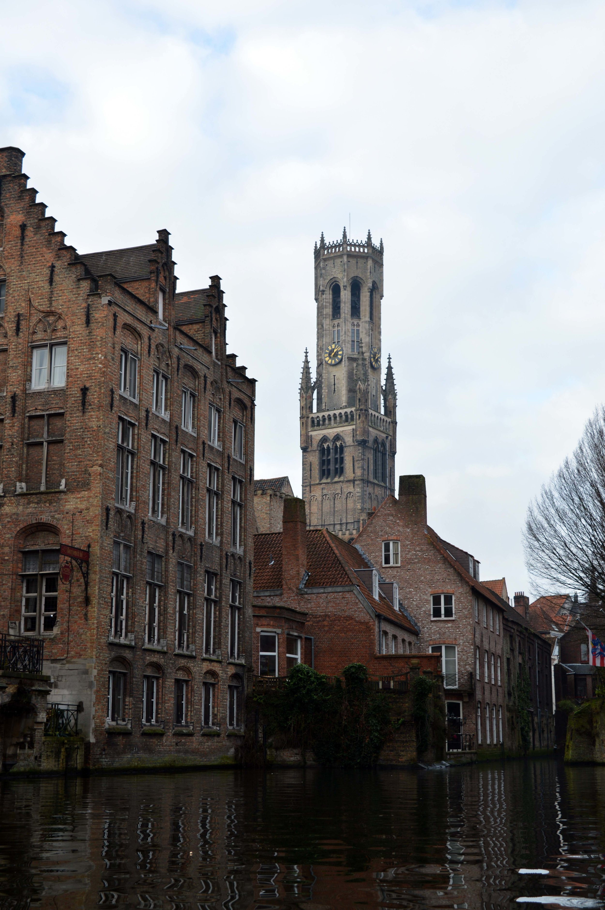 Bruges in January Belfort