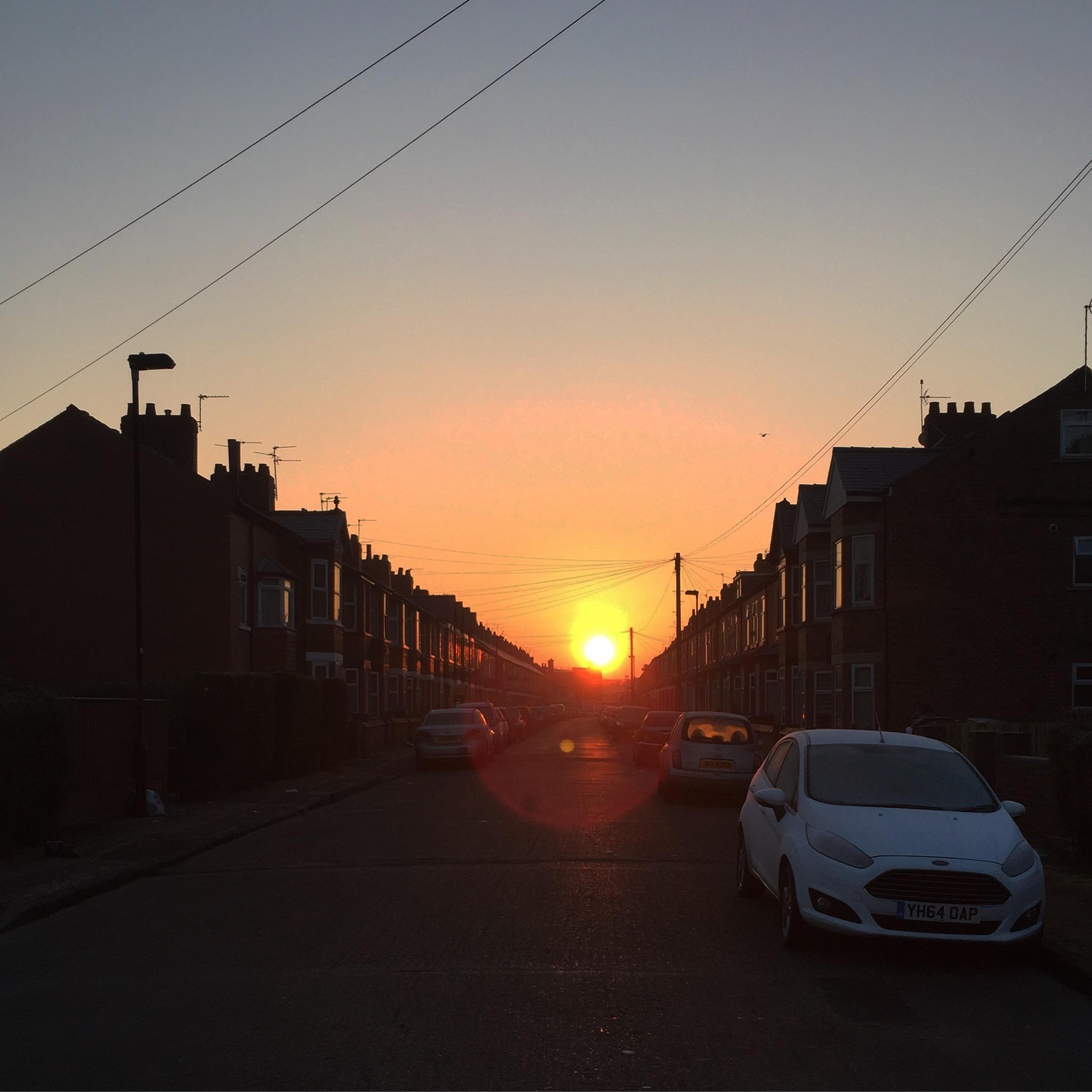 Sunrise in York