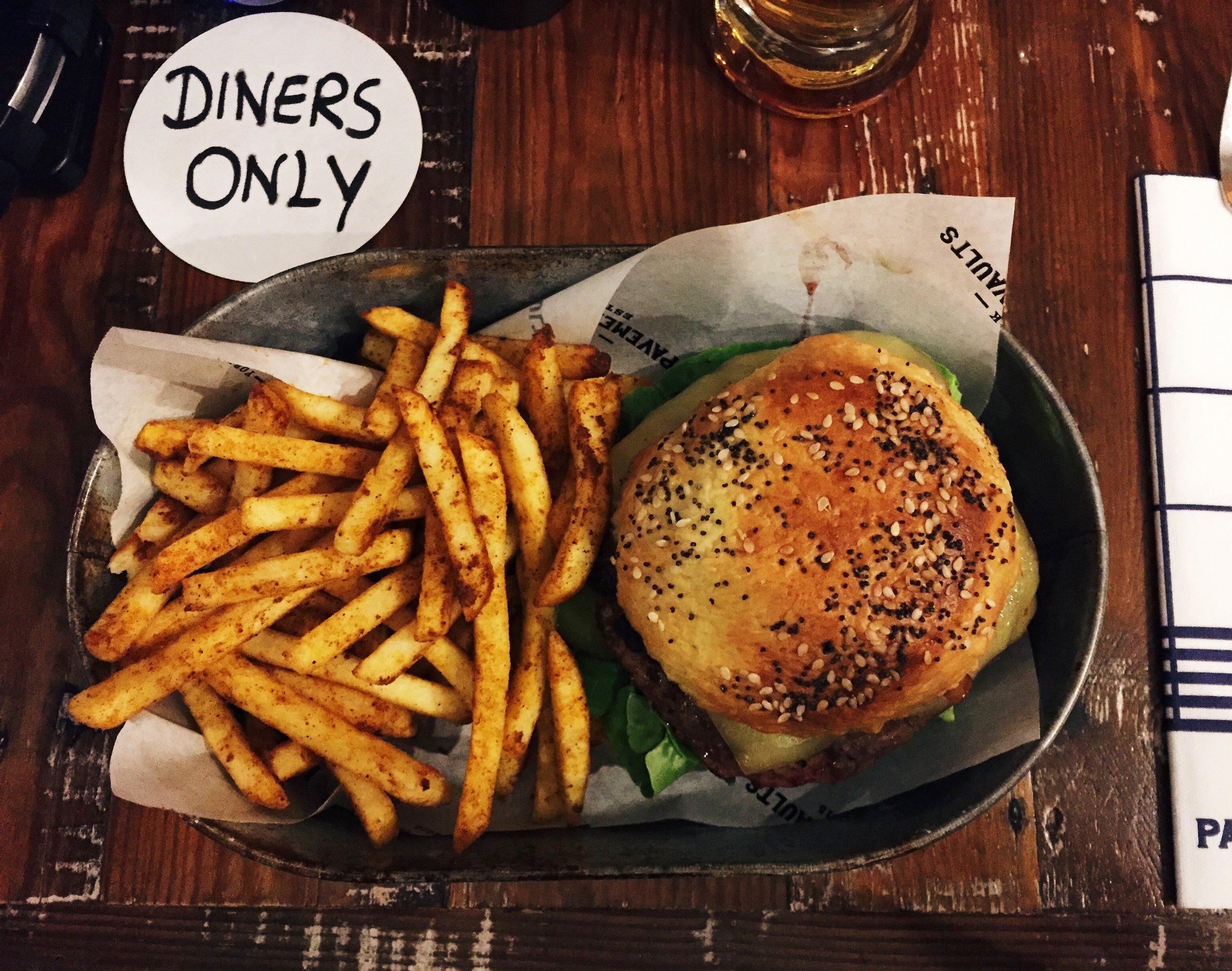 Pavement Vaults Burger York