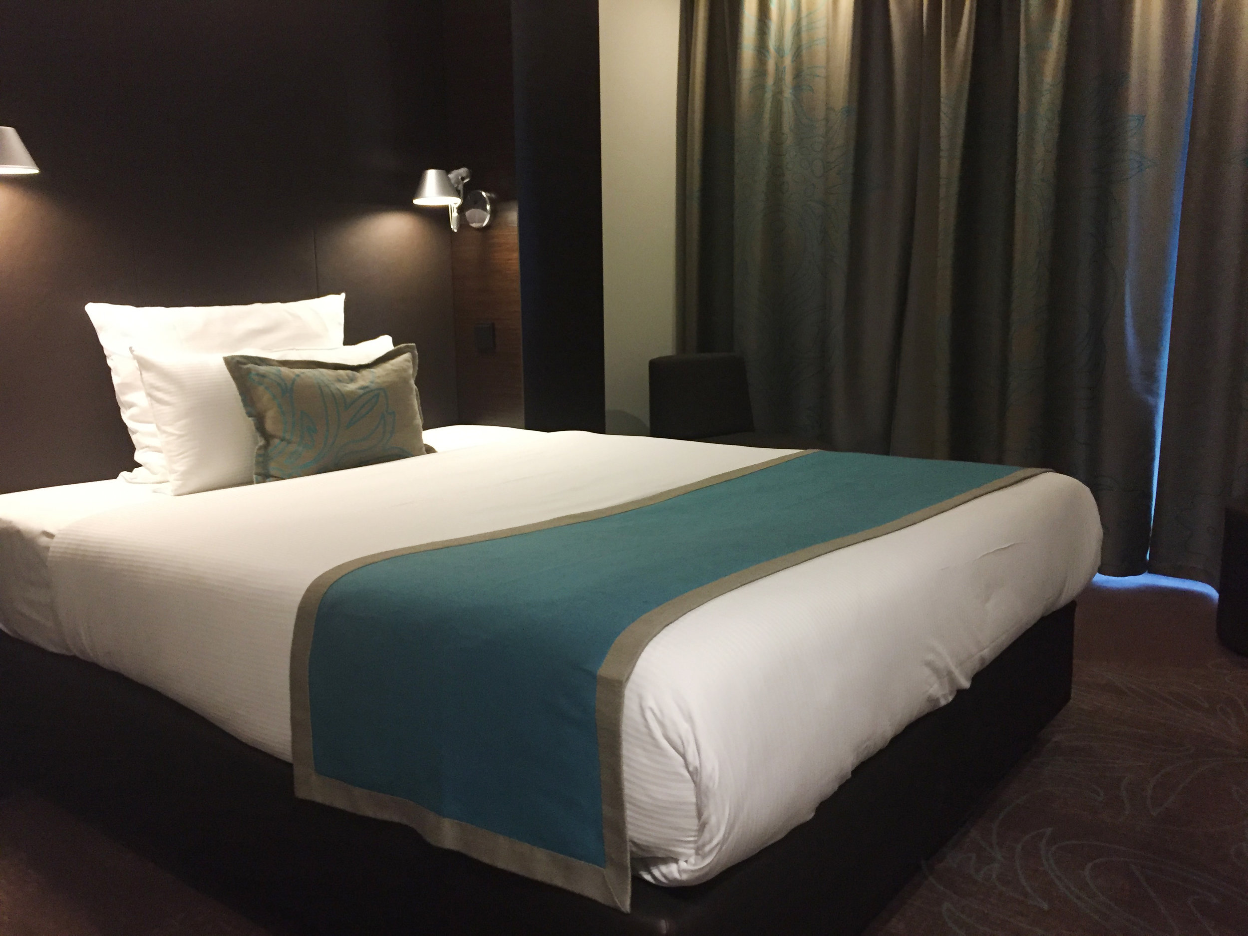 Motel One Piccadilly bed
