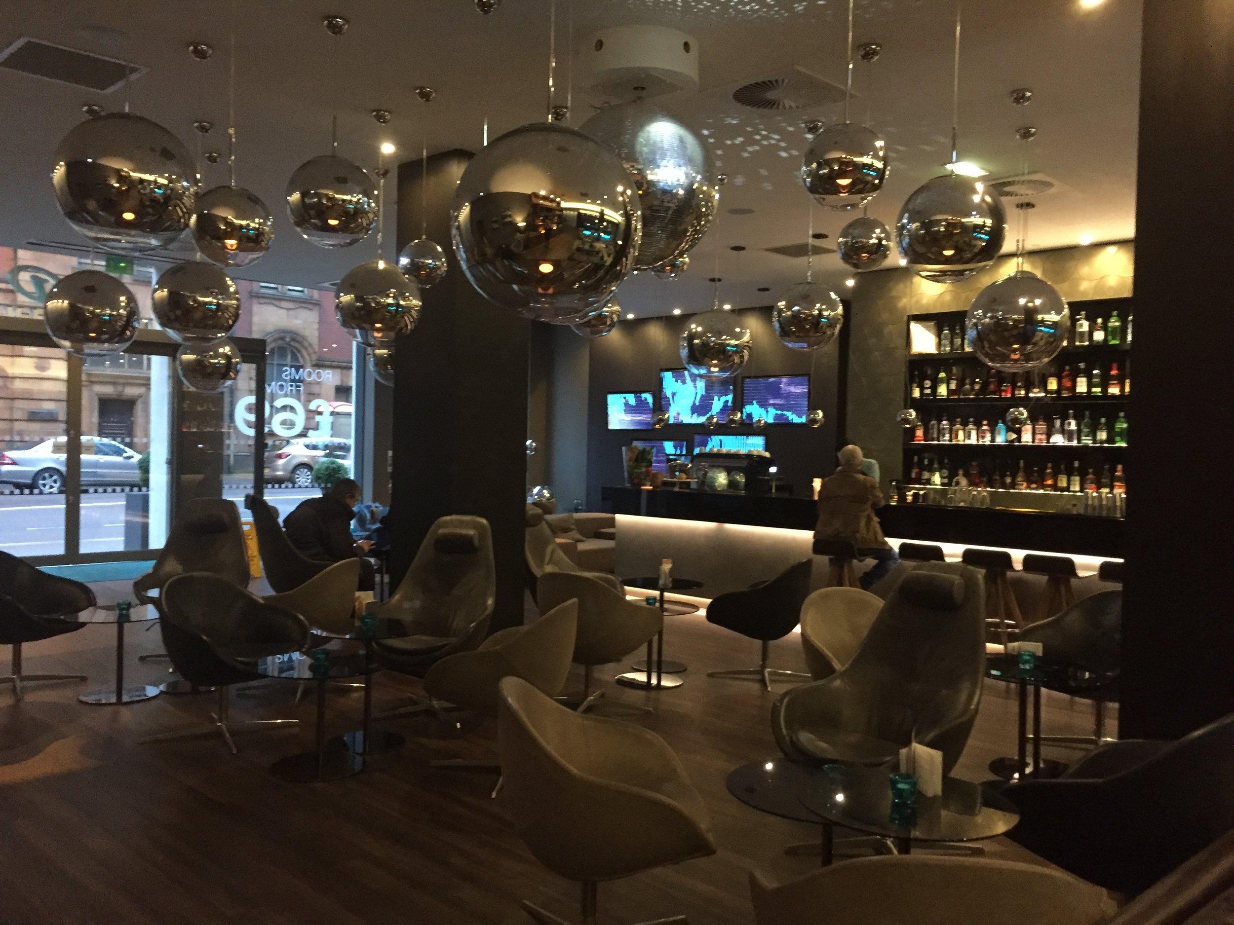 Motel One Piccadilly lobby
