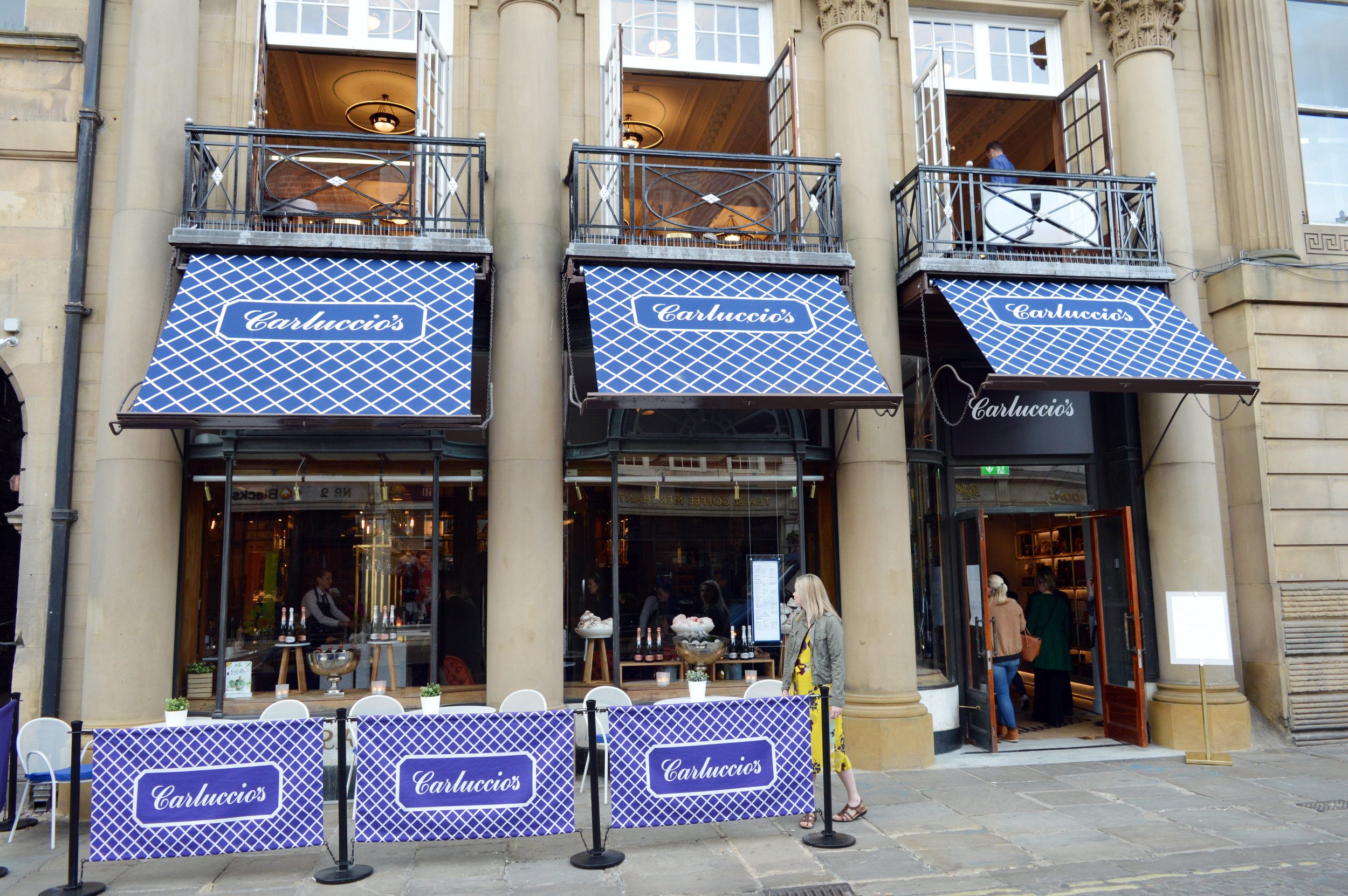 Carluccio's St Helens Square York frontage