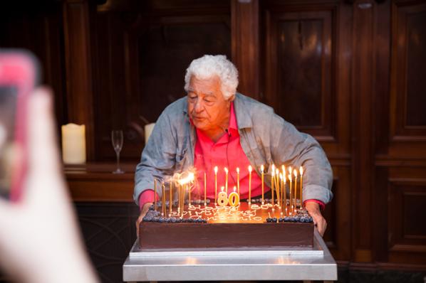 Antonio Carluccio's 80th Birthday party