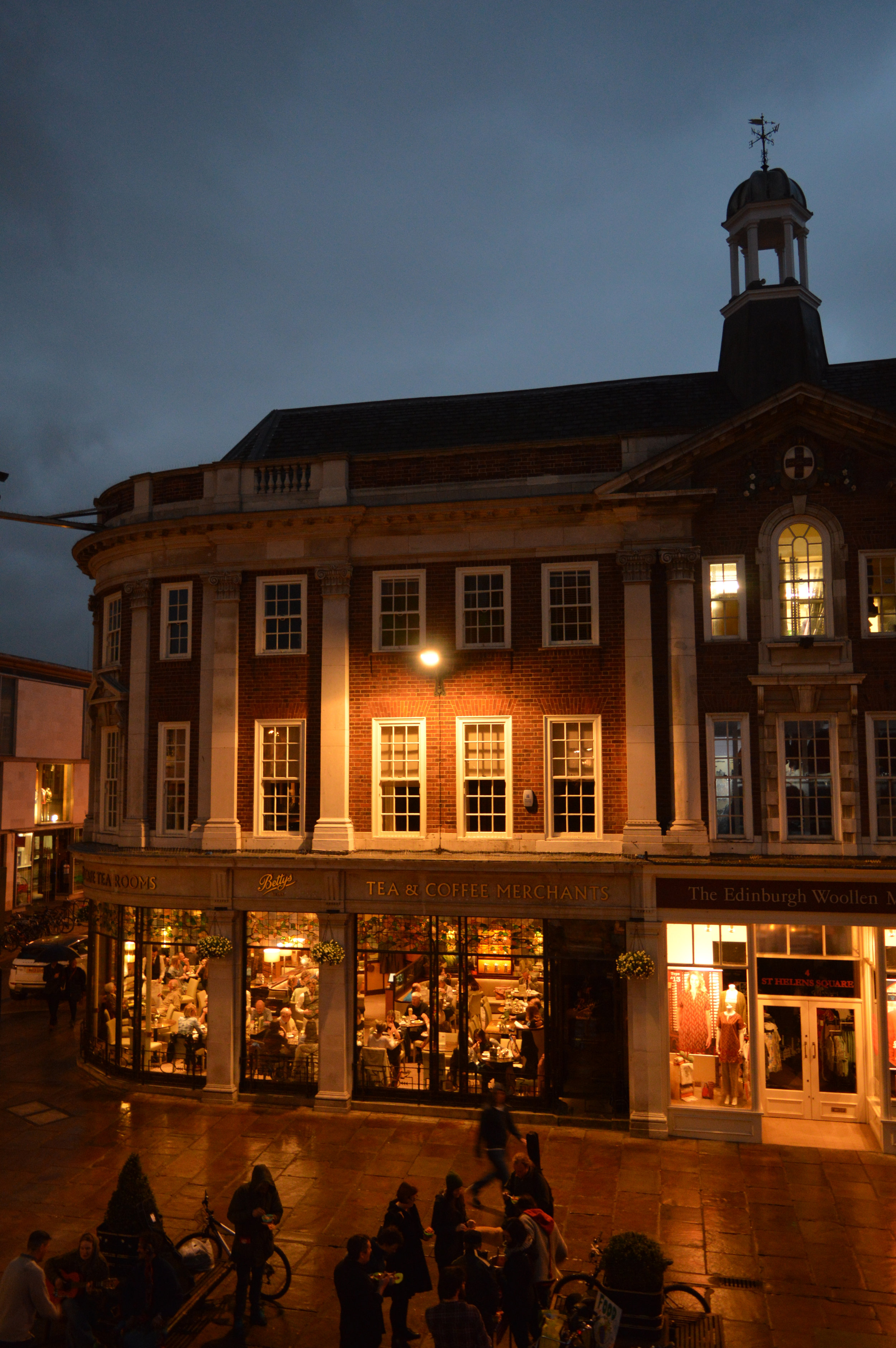 View of Bettys in St Helen's Square York