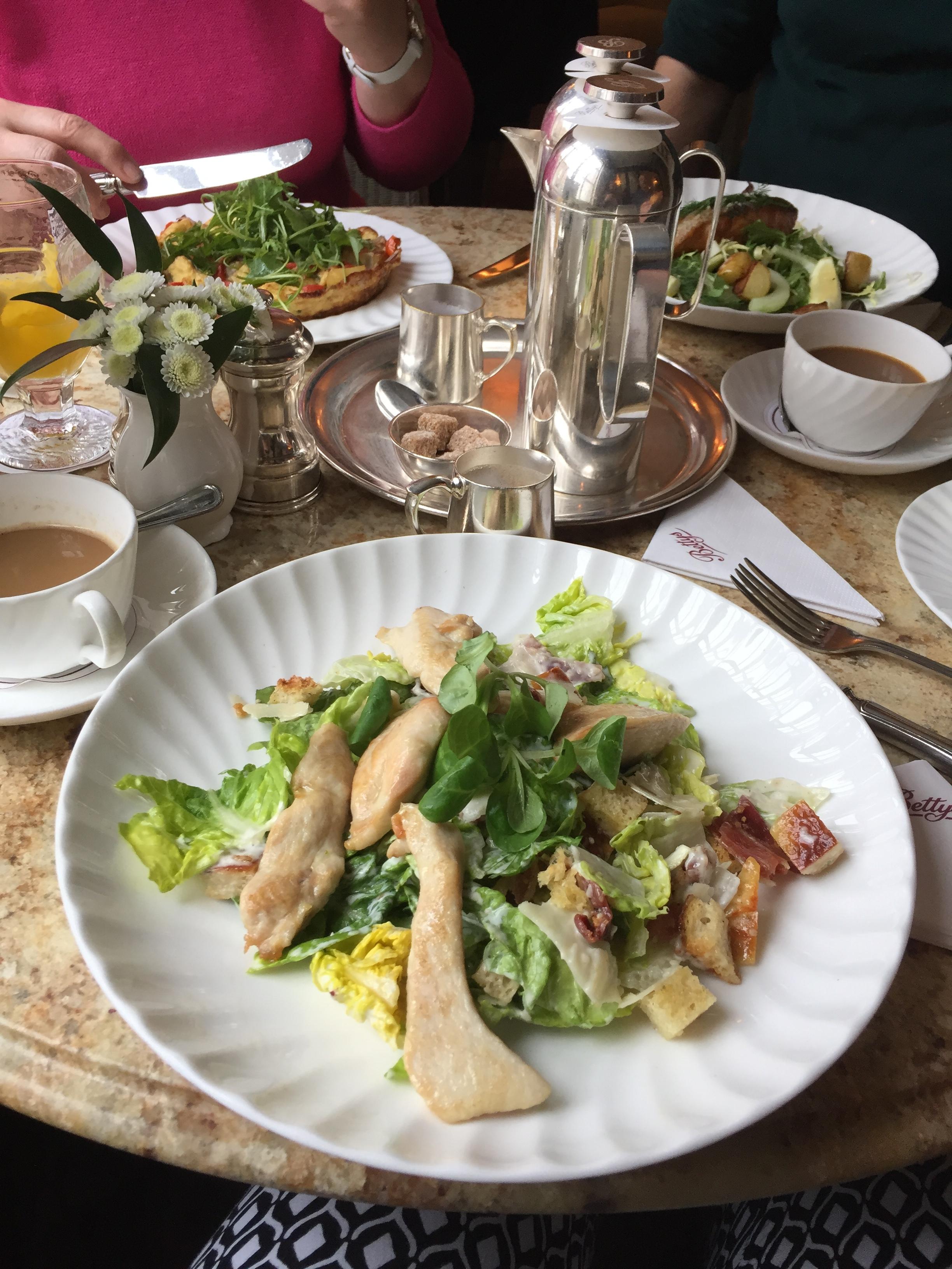 Bettys Chicken Caesar salad York