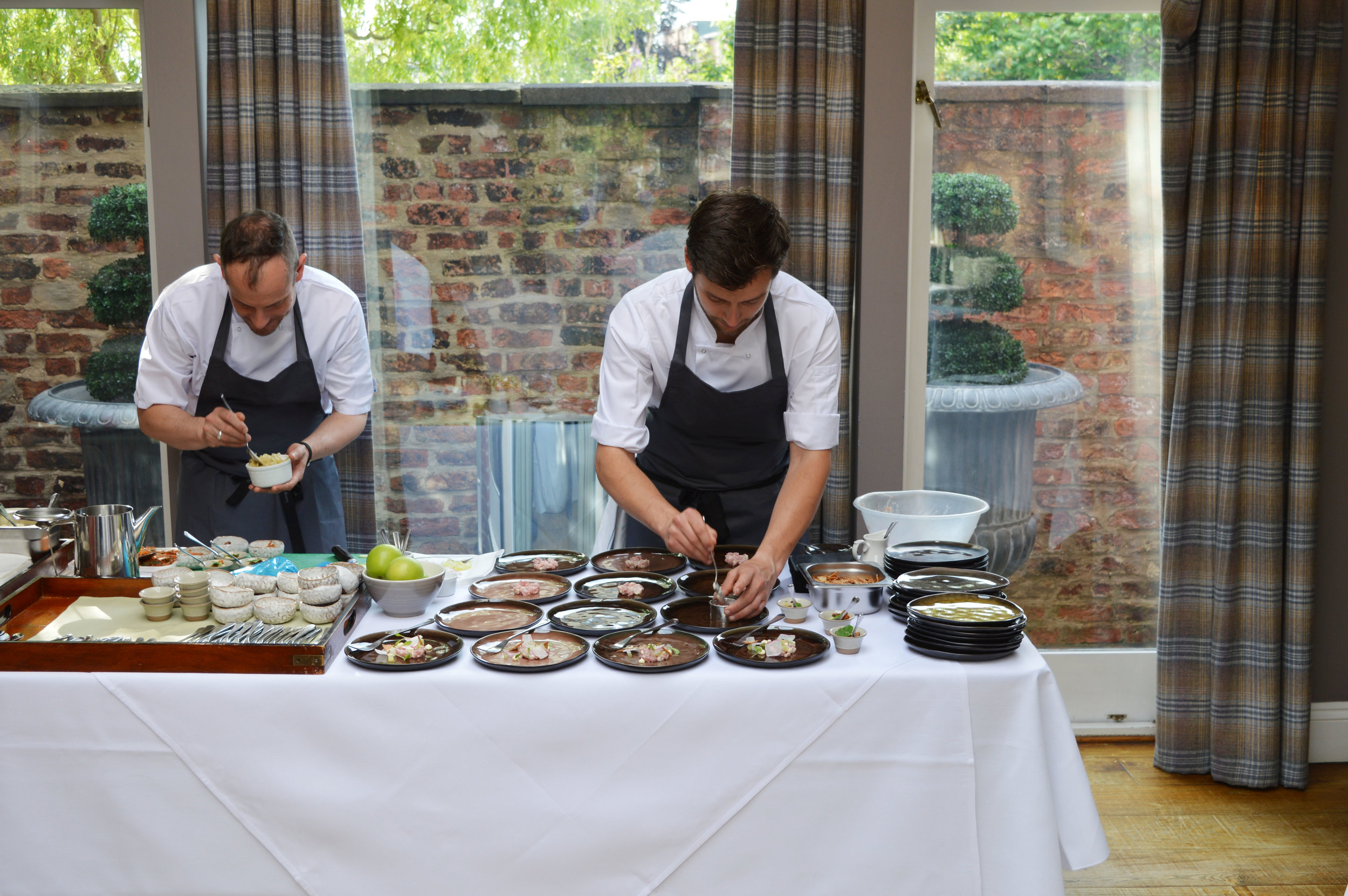 Chef Adam at The Park Restaurant at Marmadukes hotel in York review