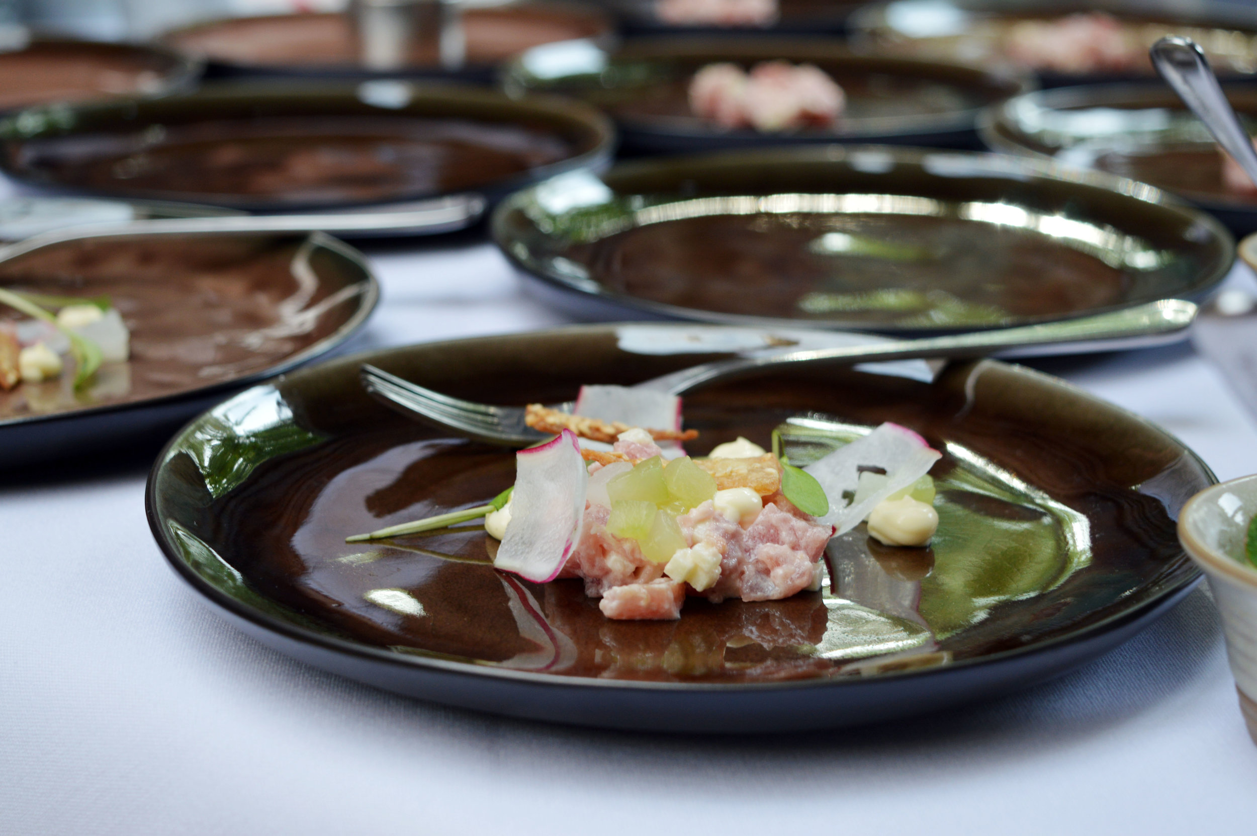 Japanese Sea Trout Tartare