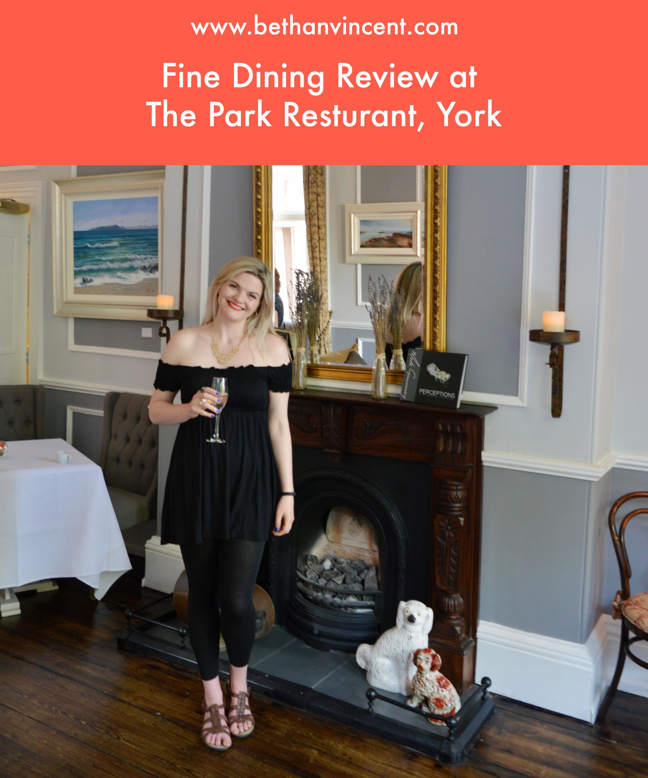 Fine Dining at the Park Restaurant, York