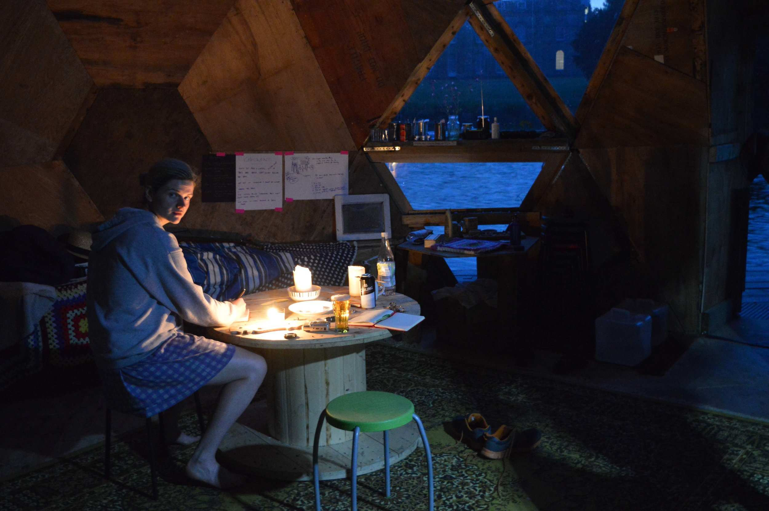 Living in a Geodesic Dome
