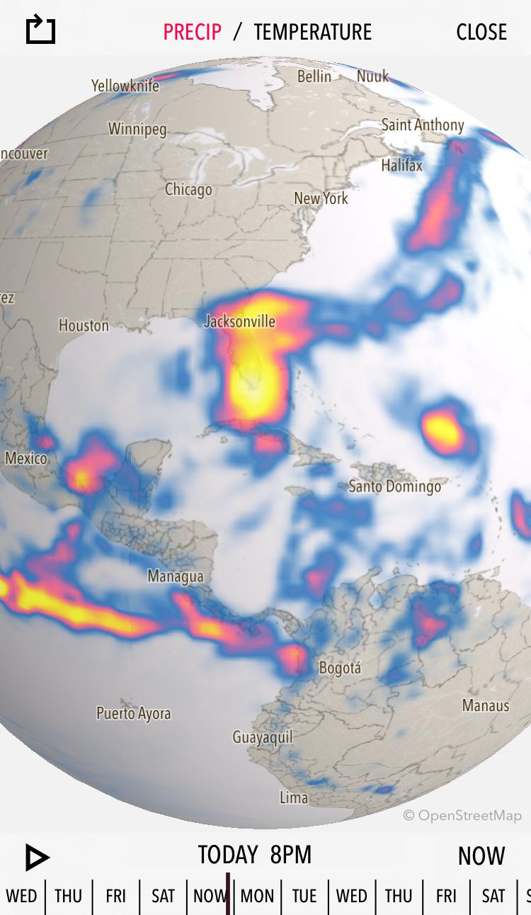 Dark Sky Hurricane Irma