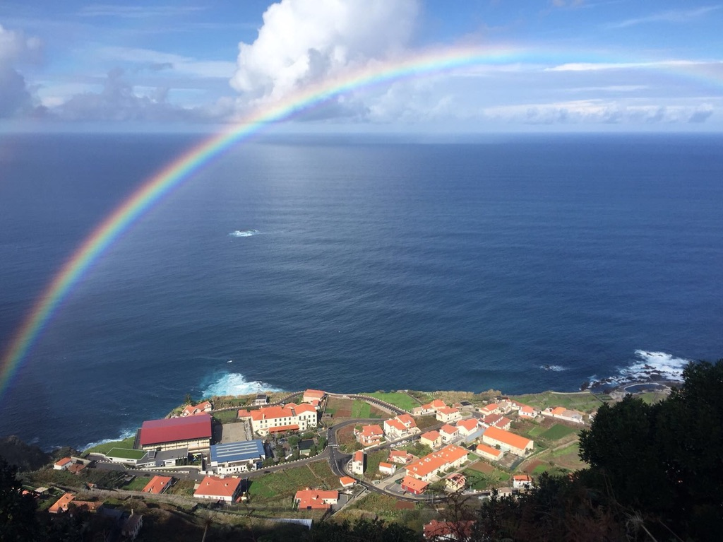 Cliché photo courtesy of my parent's trip of Madeira last year