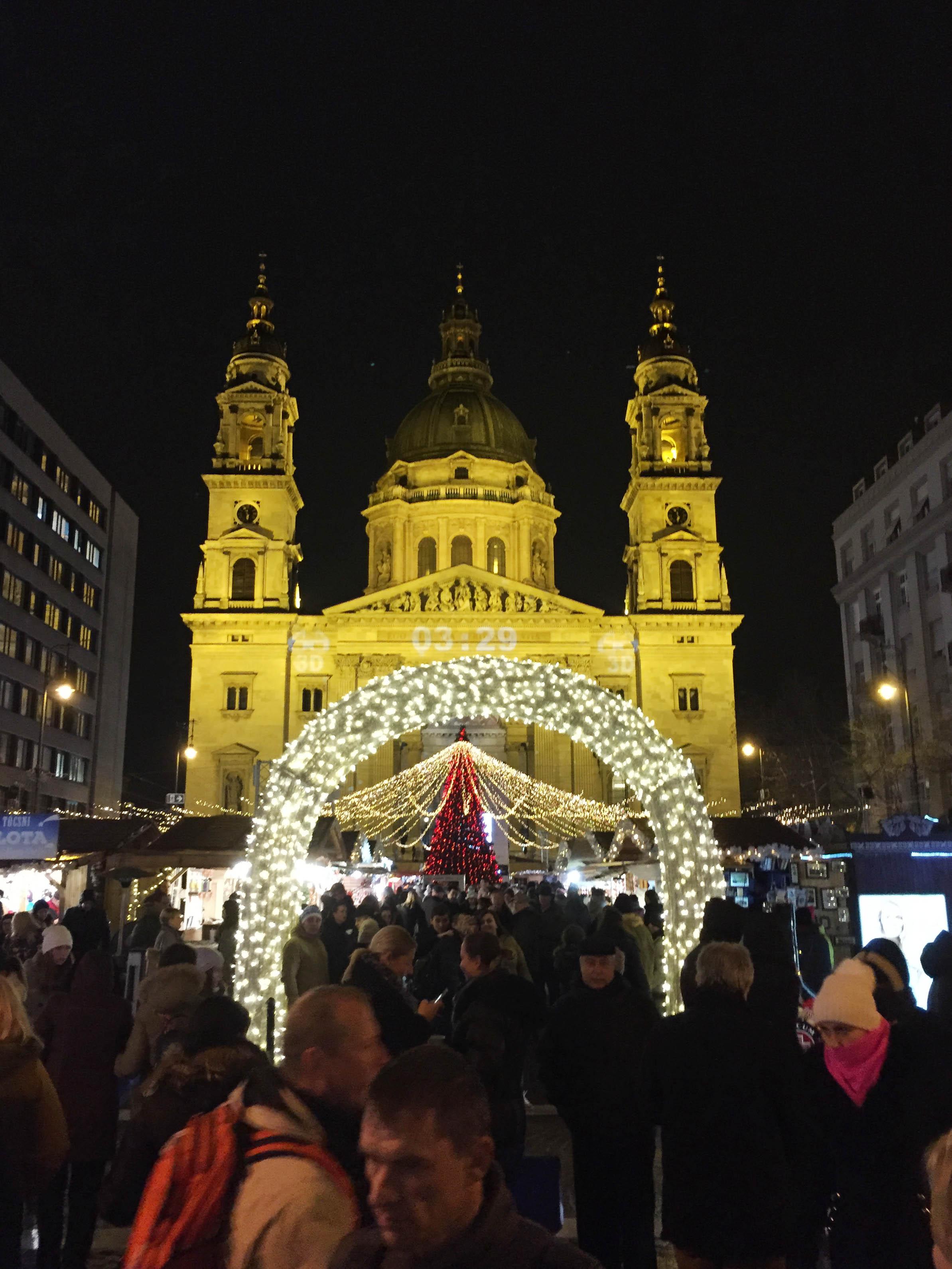St. Stephen's Basilica Christmas Markets Budapest