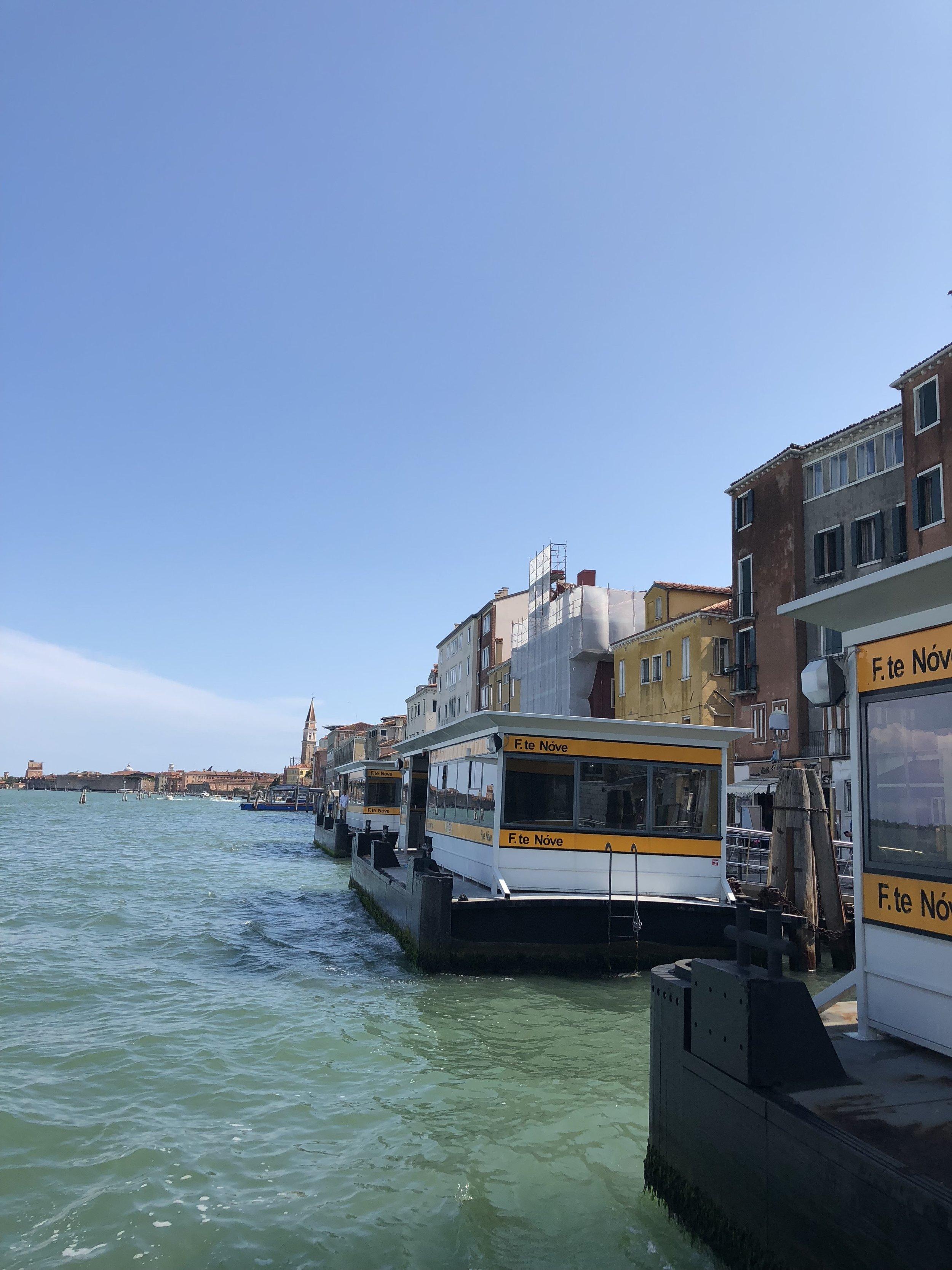 Boat to Murano