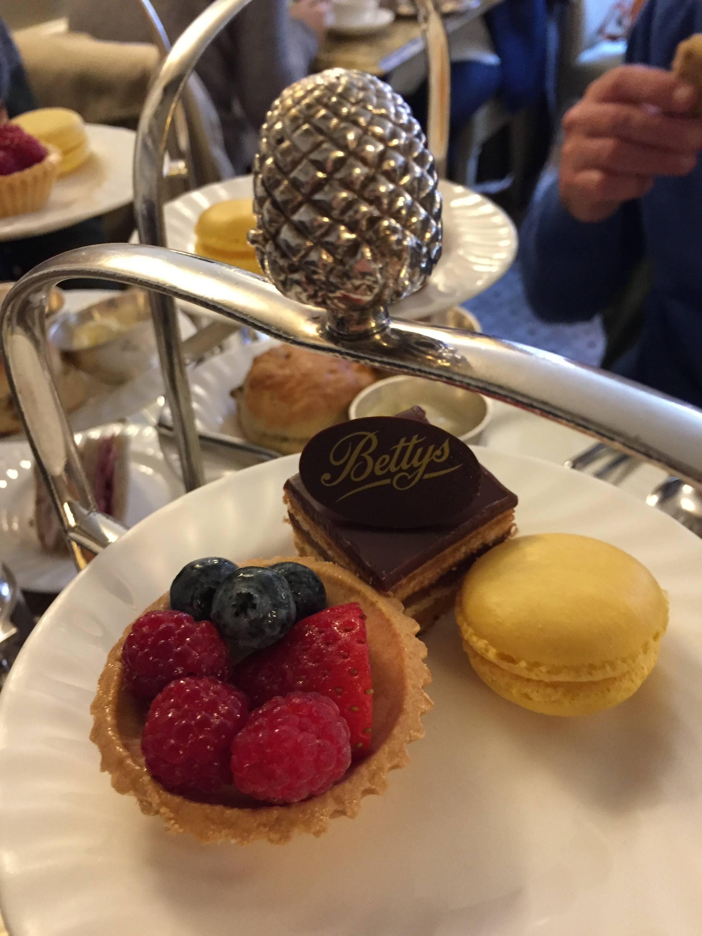 Afternoon tea at Bettys in York