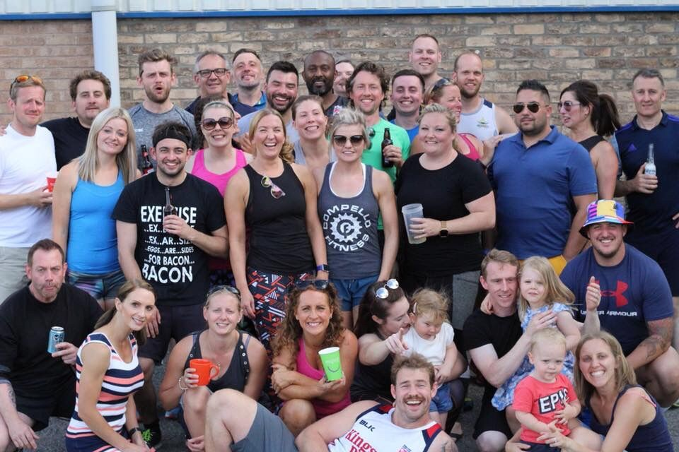 The gang at  Compello Fitness  (image courtesy of Compello Fitness)