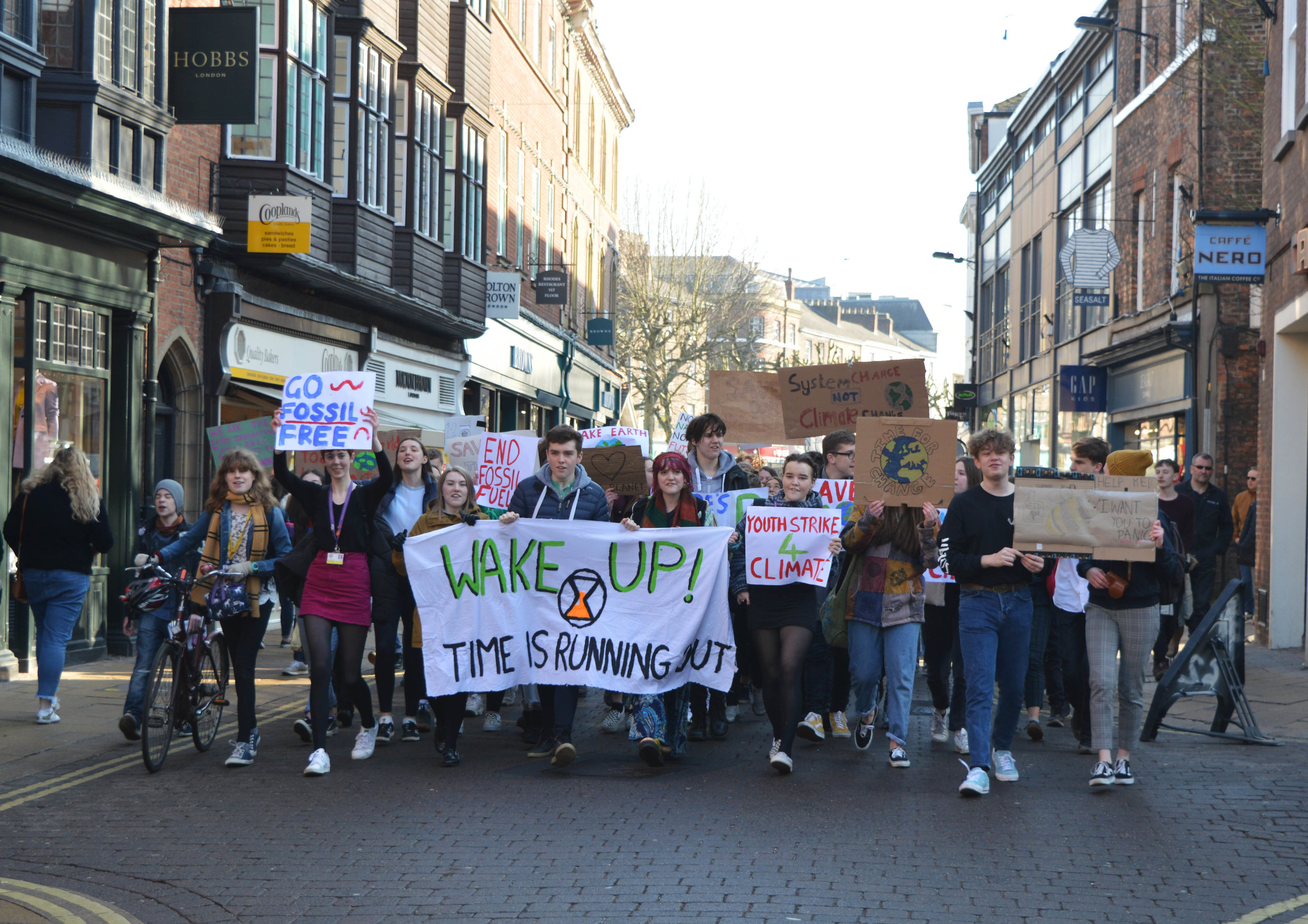 Climate change march York