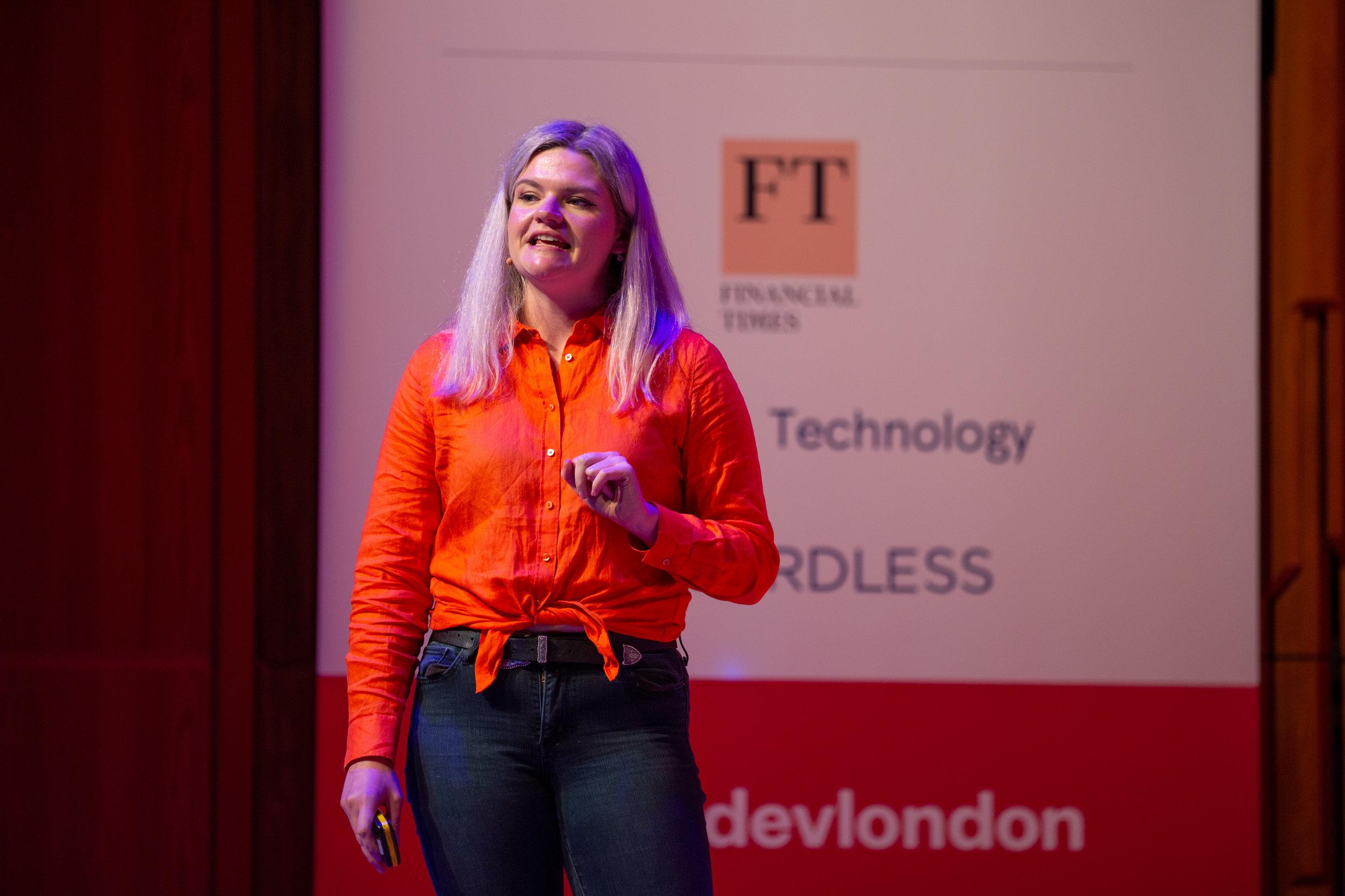 Bethan Vincent | The Lead Developer London 2019