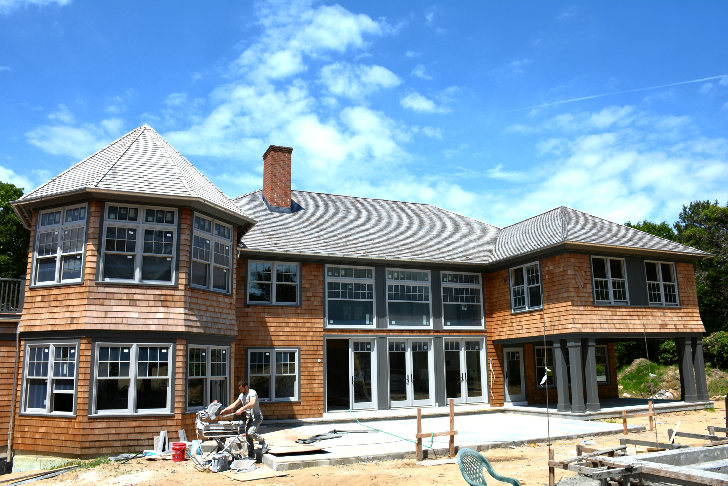 This residential property located in Amagansett, NY is currently in progress. We are really excited to see this project come near completion.