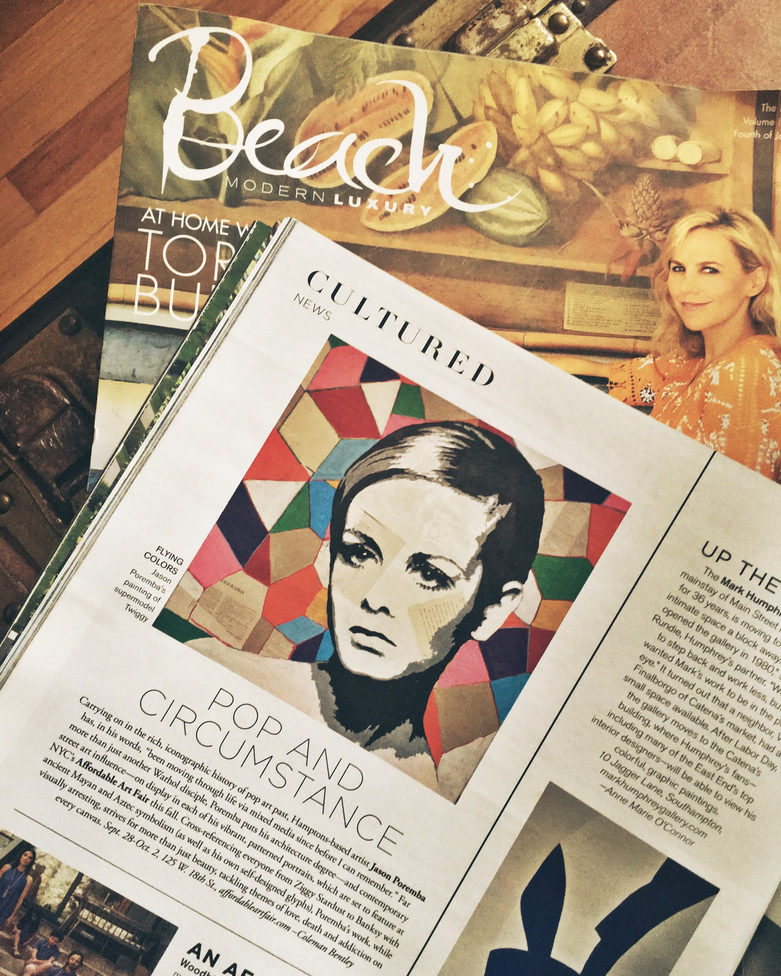 A big thanks to Beach Magazine for featuring me in their latest issue. Go pick up a copy and find me on page 52!