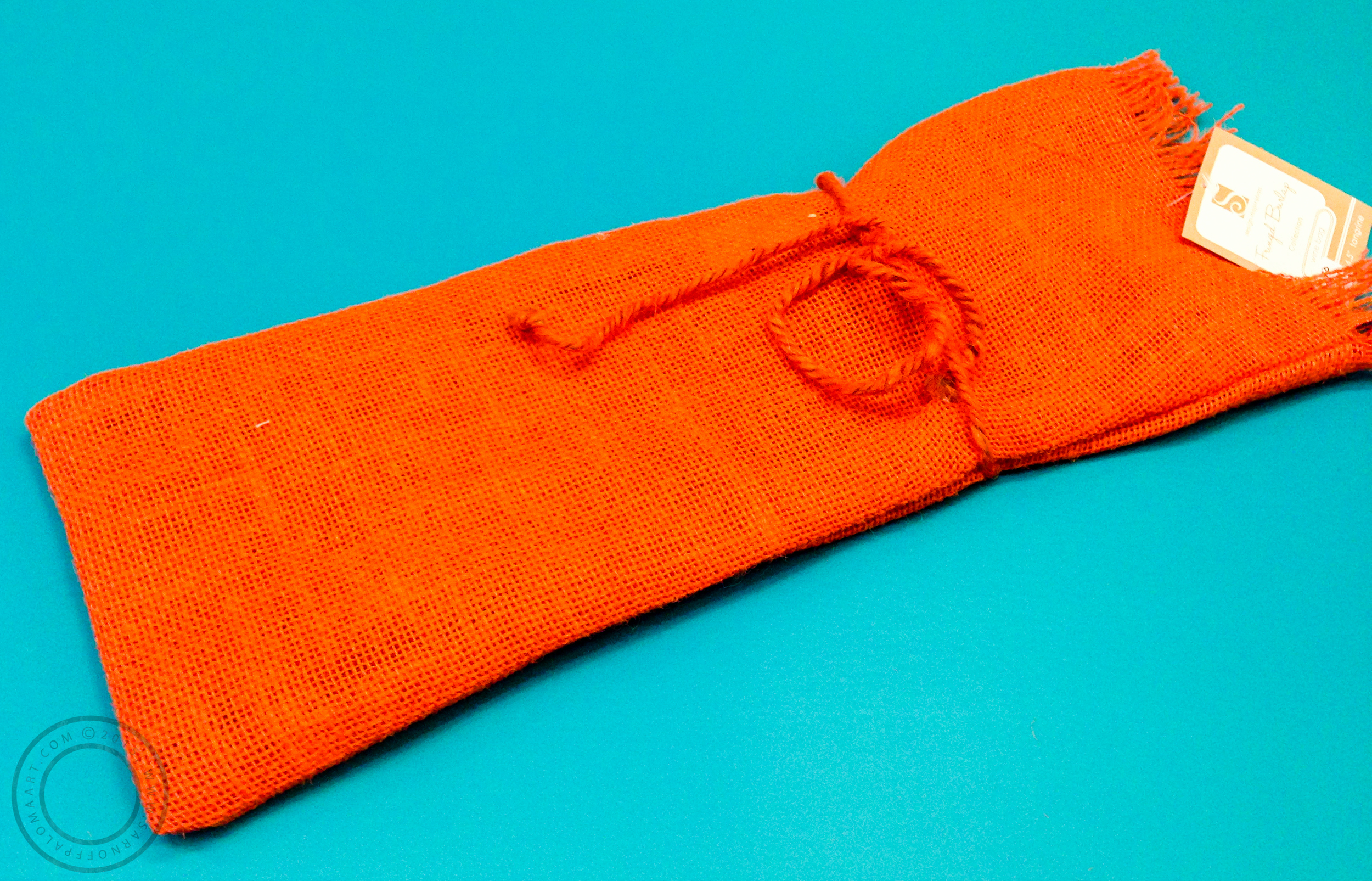 Tangerine wine bag by S Design inspiration- $5.50