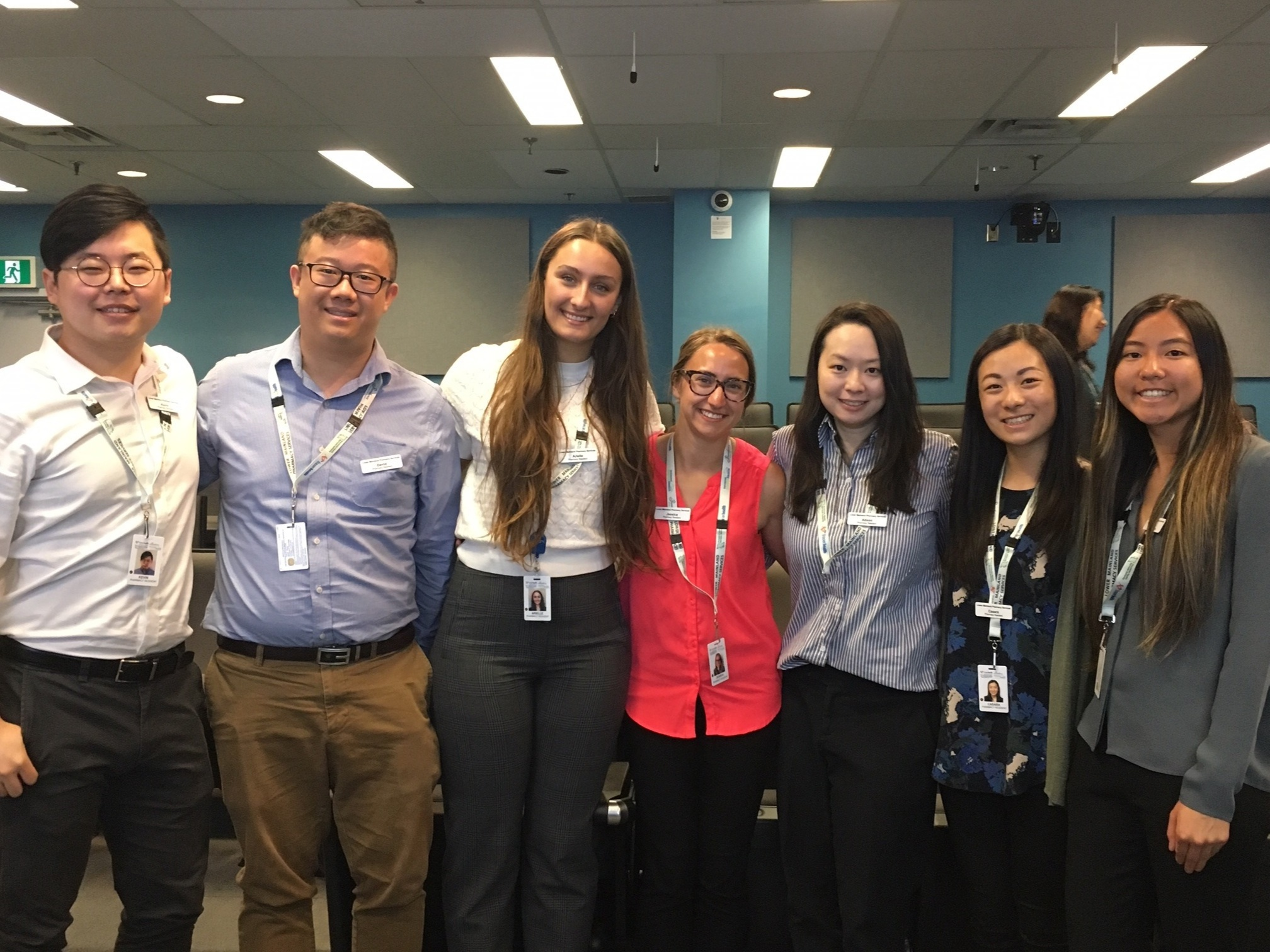 SPH / LGH Pod (from left to right: Kevin, David, Arielle, Jessica, Alison, Casara and Kaitlyn)