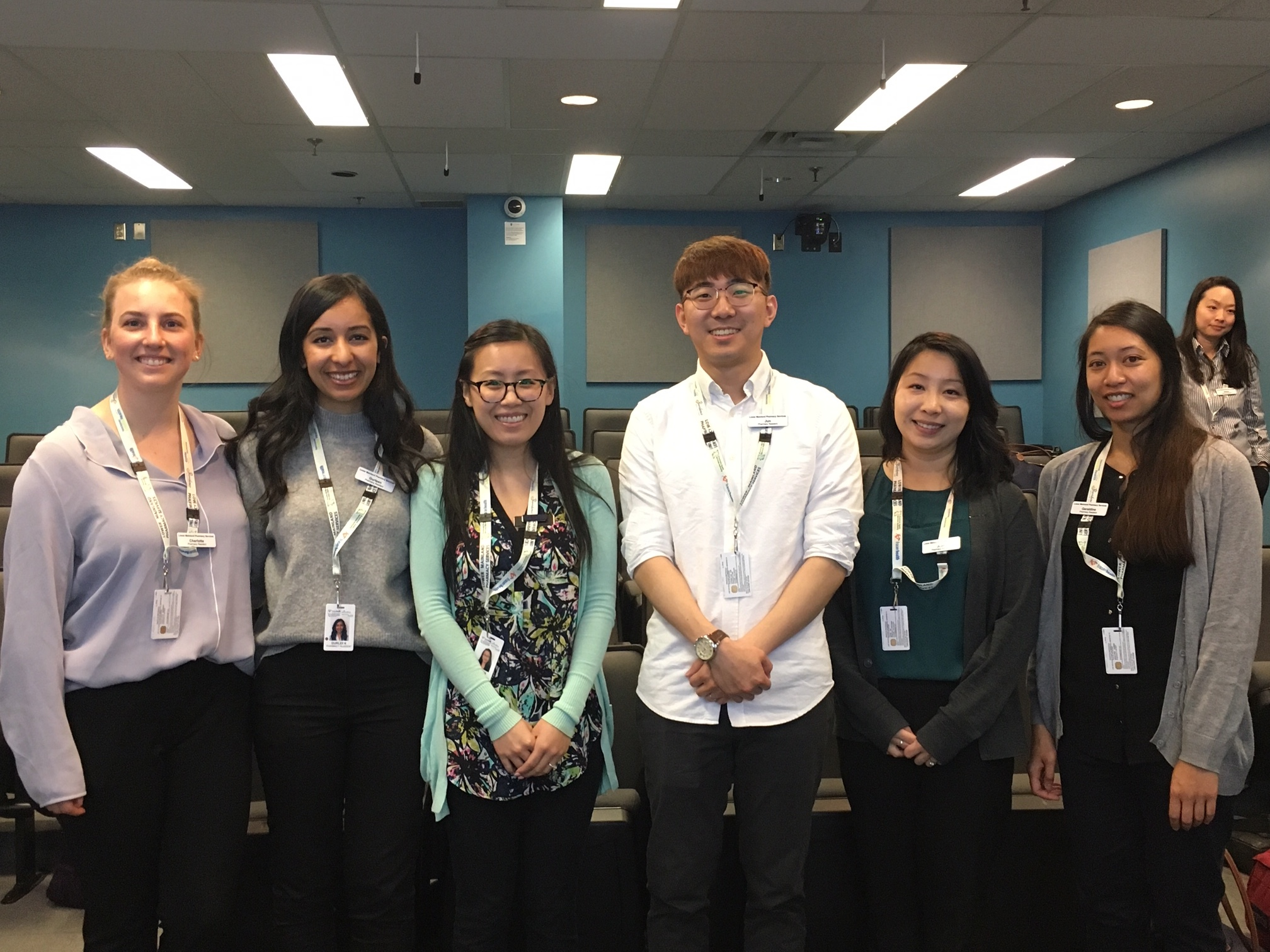 RCH/BH Pod (from left to right: Charlotte, Gurleen, Shi-Yuan, Jun, Joan and Geraldine)