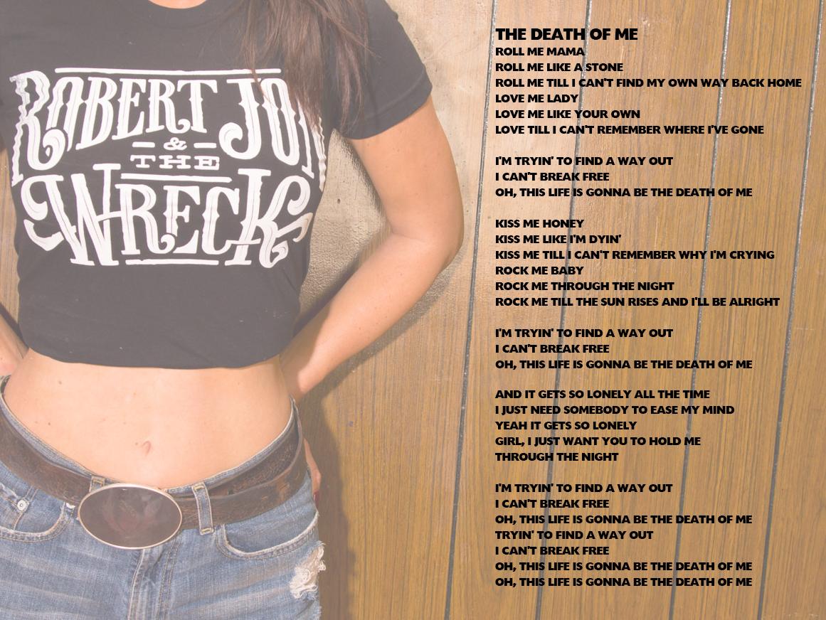 GLP DB 5 Lyrics 5 - THE DEATH OF ME.jpg