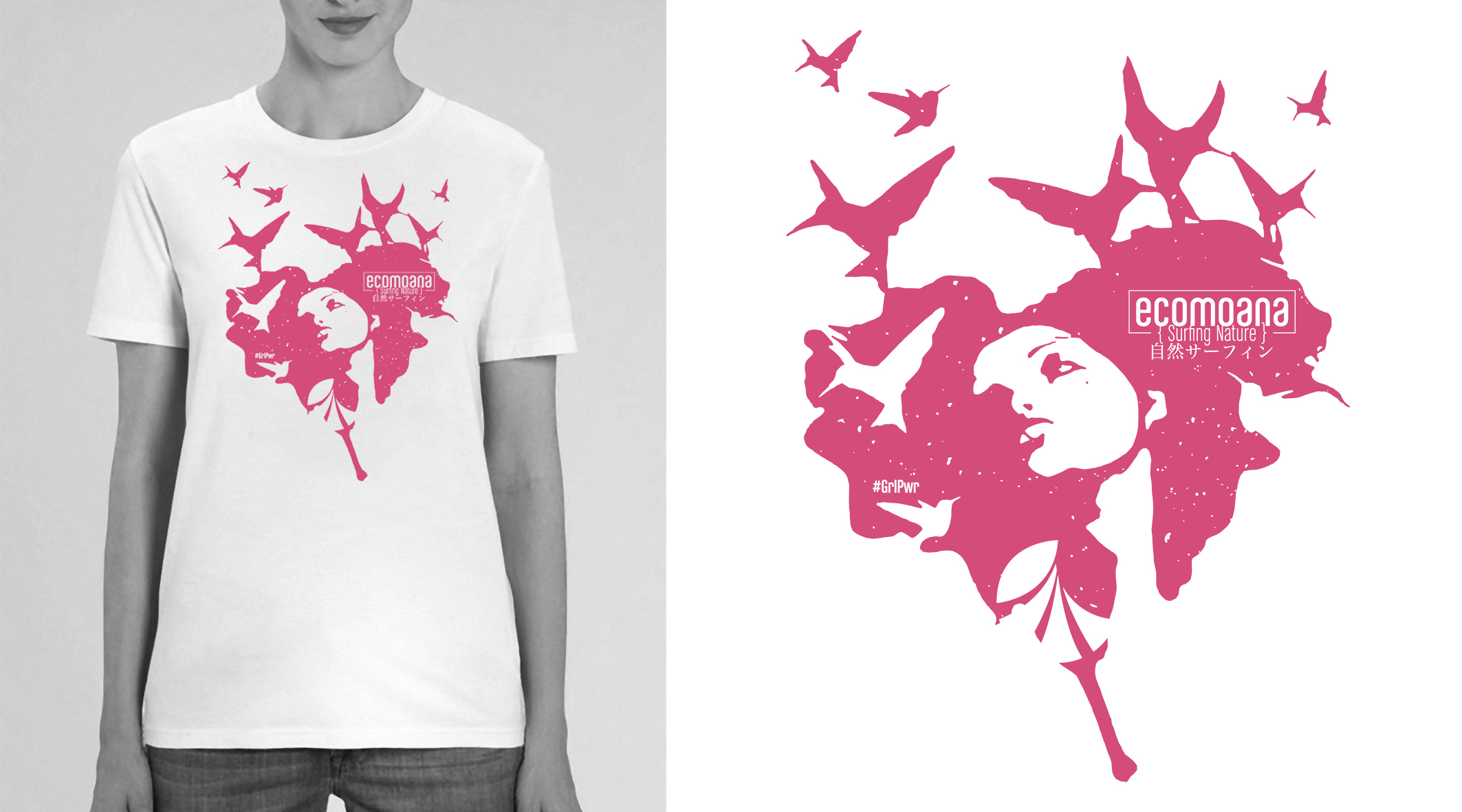 LADY Tees Collection - #MadeInFrance#Organic #Bio#GrlPwr