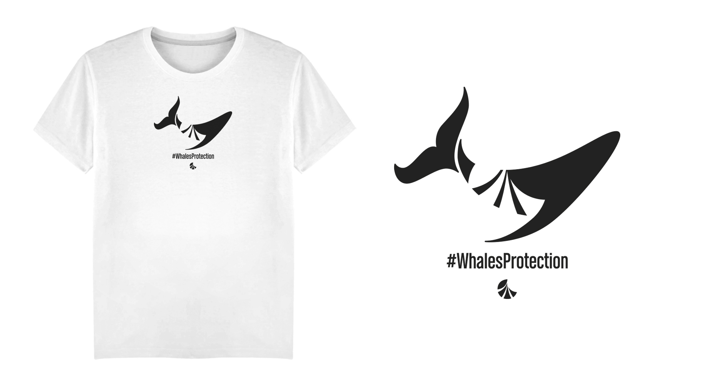 GENT Tees Collection - #MadeInFrance#Organic #Bio#WhalesProtection