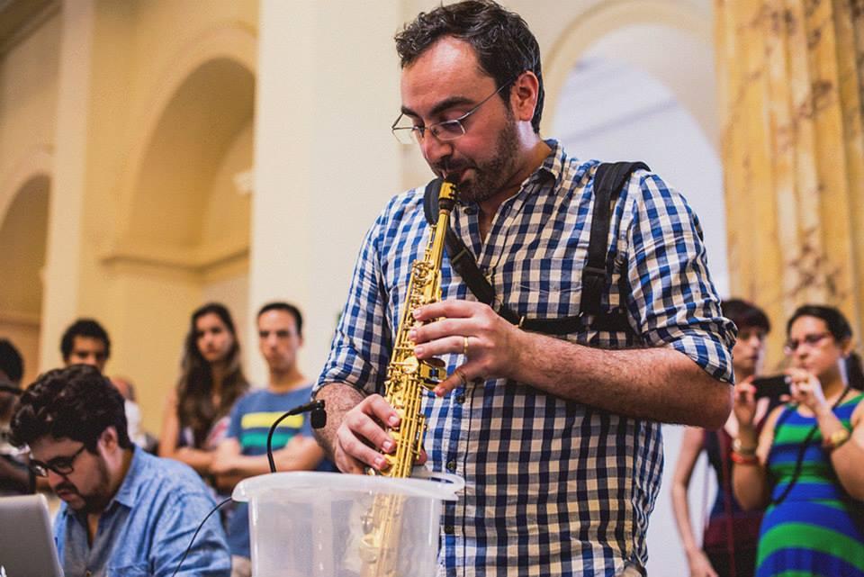 Yemanjá , para saxofone preparado