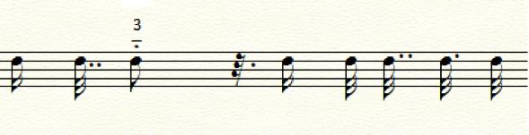 Exemplo 1b. Análise espectral de perfil melódico da mesma frase