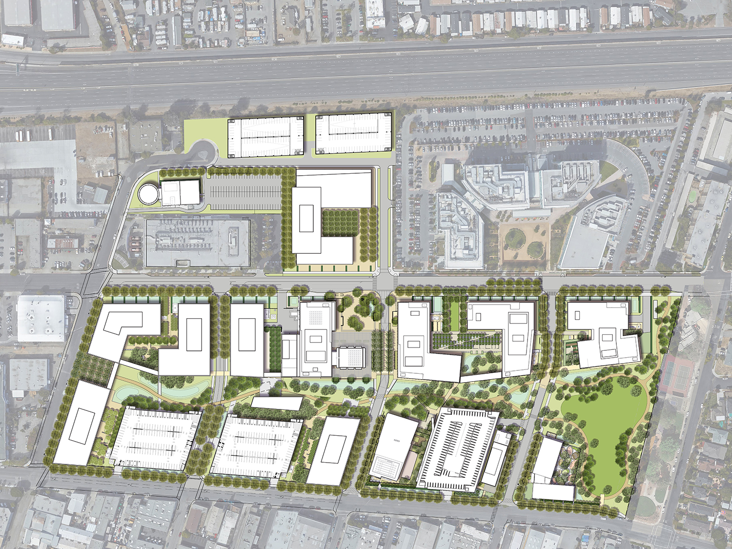 Master Plan for new Redwood City Campus