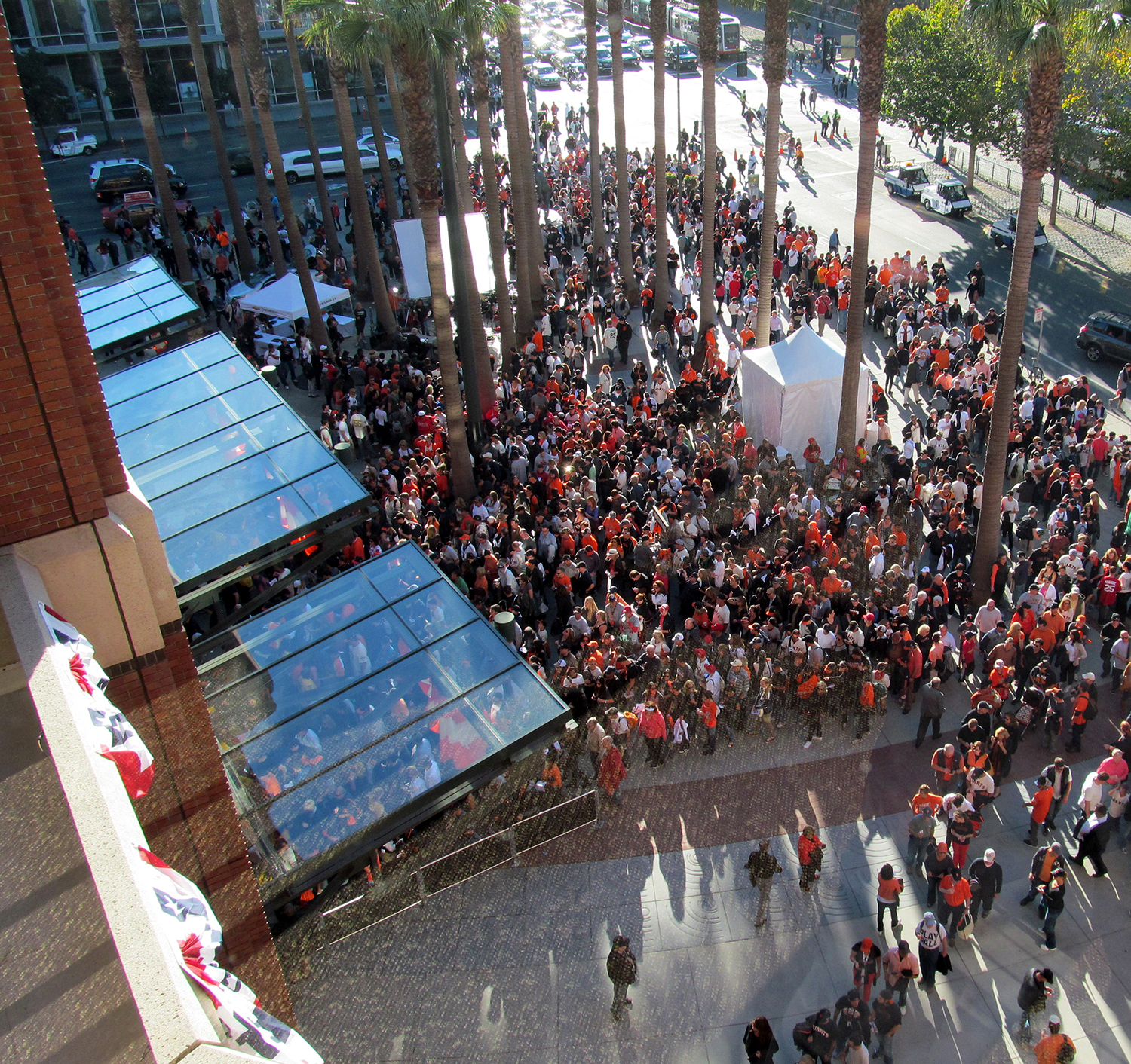 AT&T Park - Willie Mays Plaza