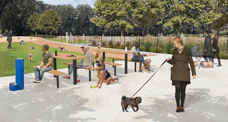 Golden Gate Park Dog Run