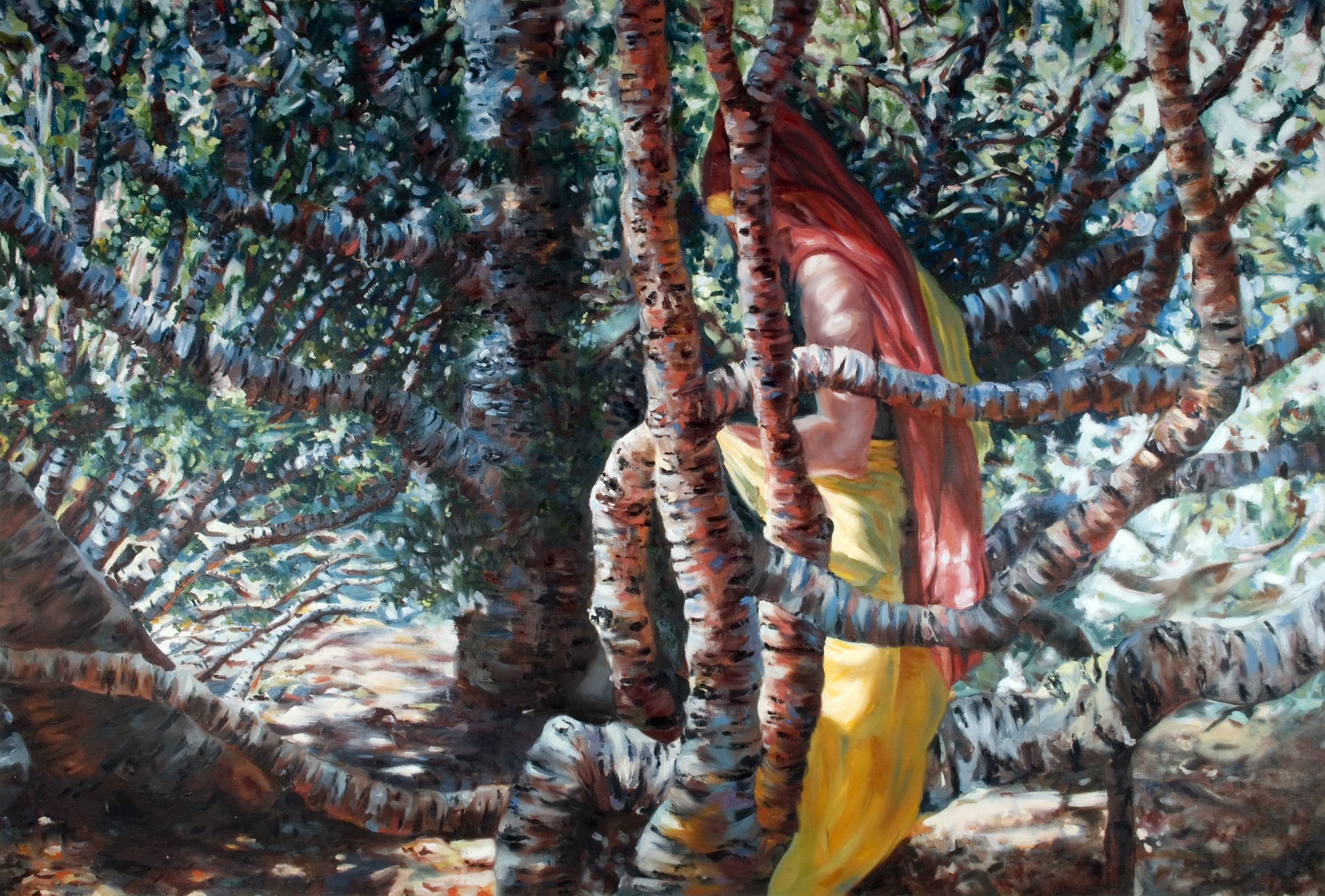 """2011, oil on canvas, 46"""" x 70"""", sold"""
