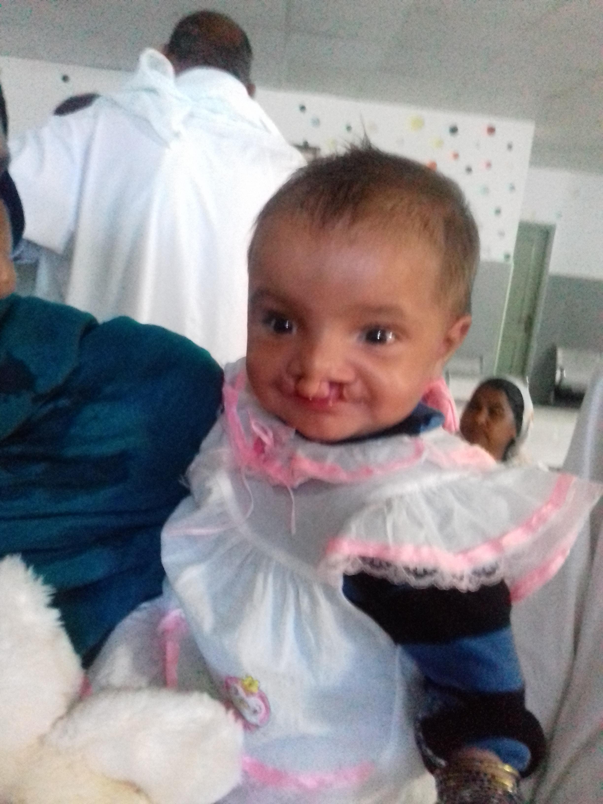 Hajra Noor is just 10 months old
