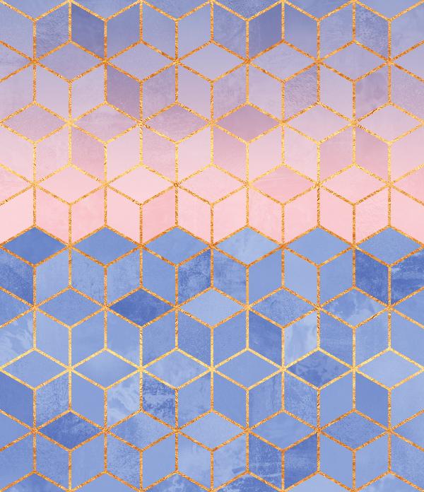 Rose Quartz & Serenity Cubes