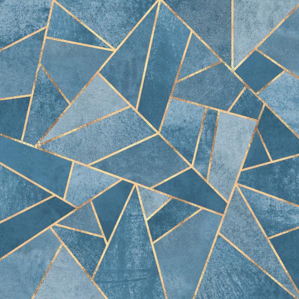 Dusk Blue Stone