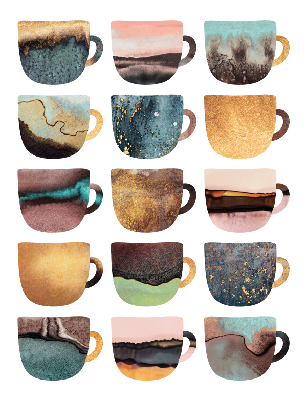 Earthy Coffee Cups