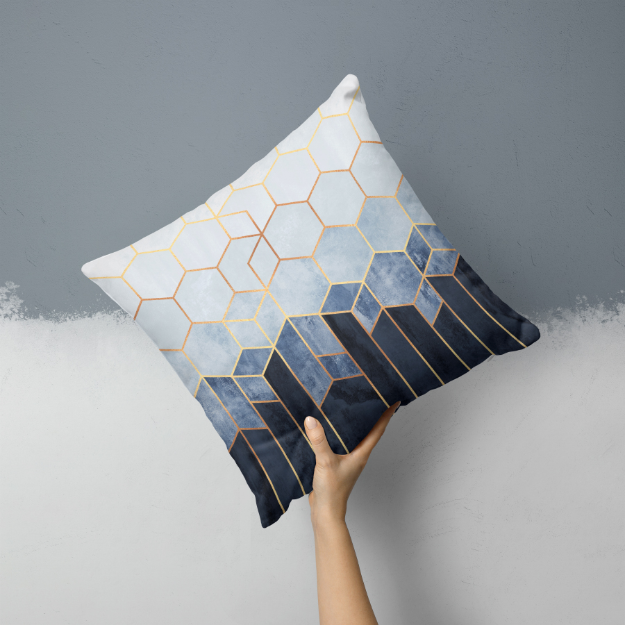 M_Softbluehexagons_Pillow.jpg