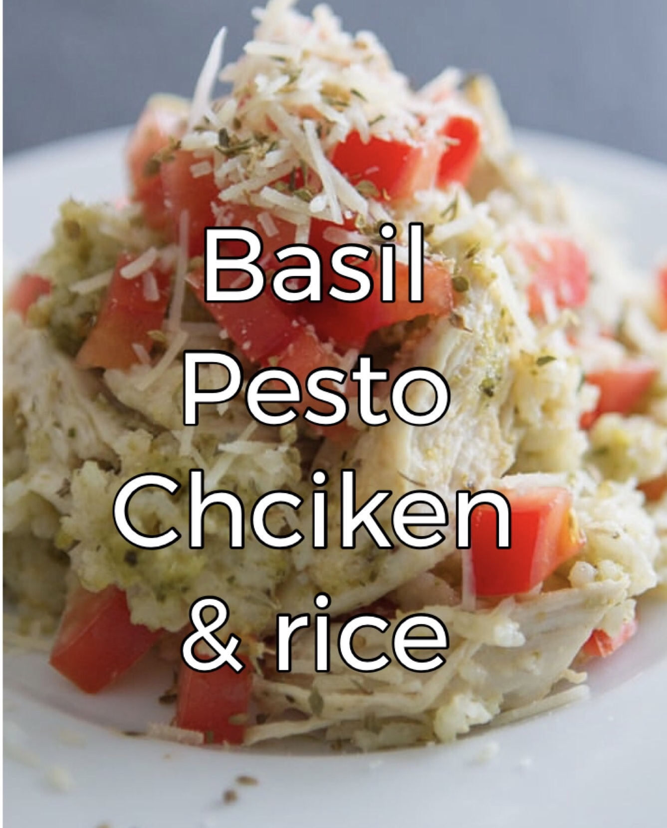 - Add some basil pesto, Parmesan cheese, roasted asparagus and cherry tomatoes to your chopped chicken and cooked rice and enjoy this meal either hot or cold!