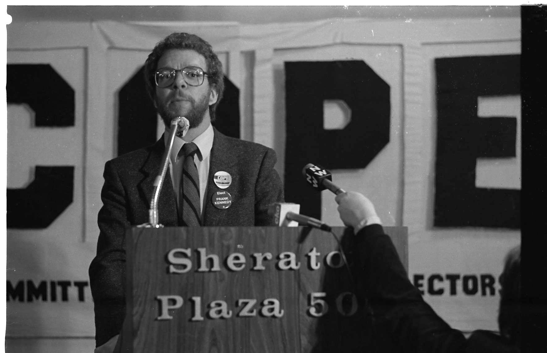 COPE victory party, 1984